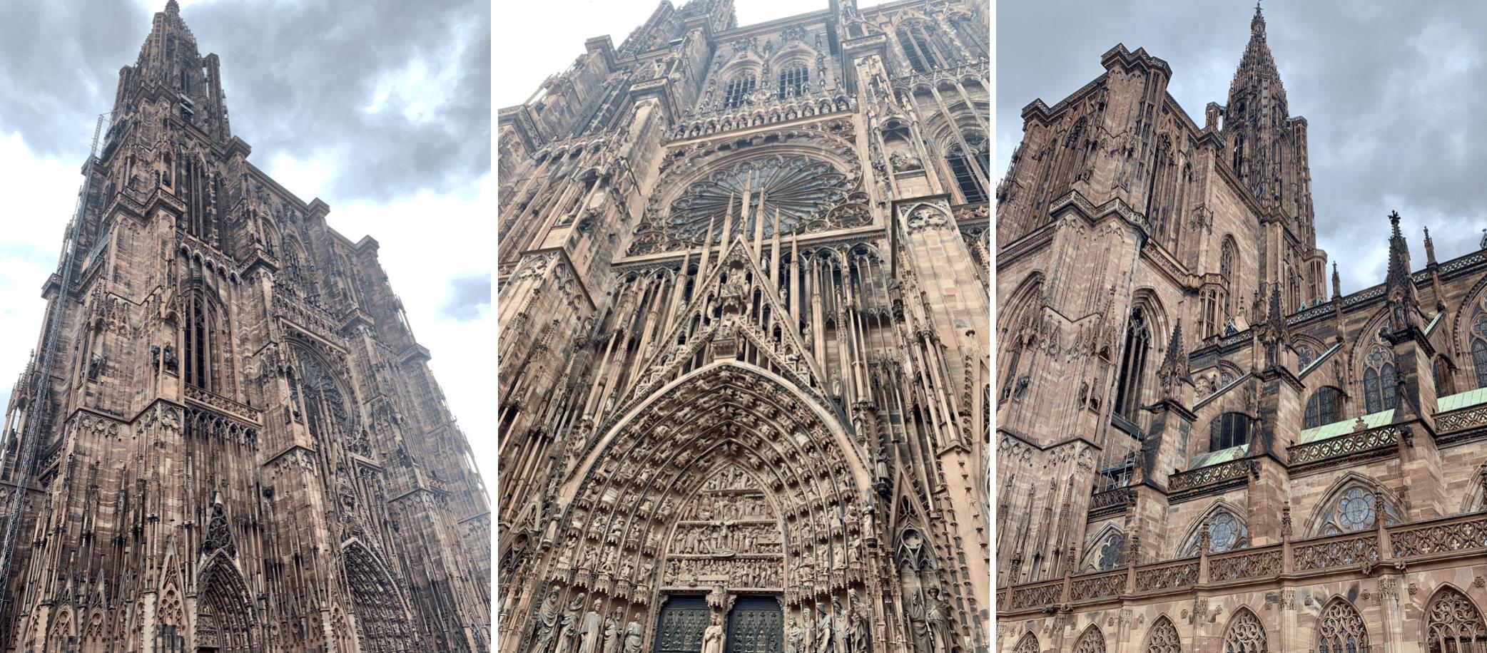 la cathedrale notre dame de strasbourg