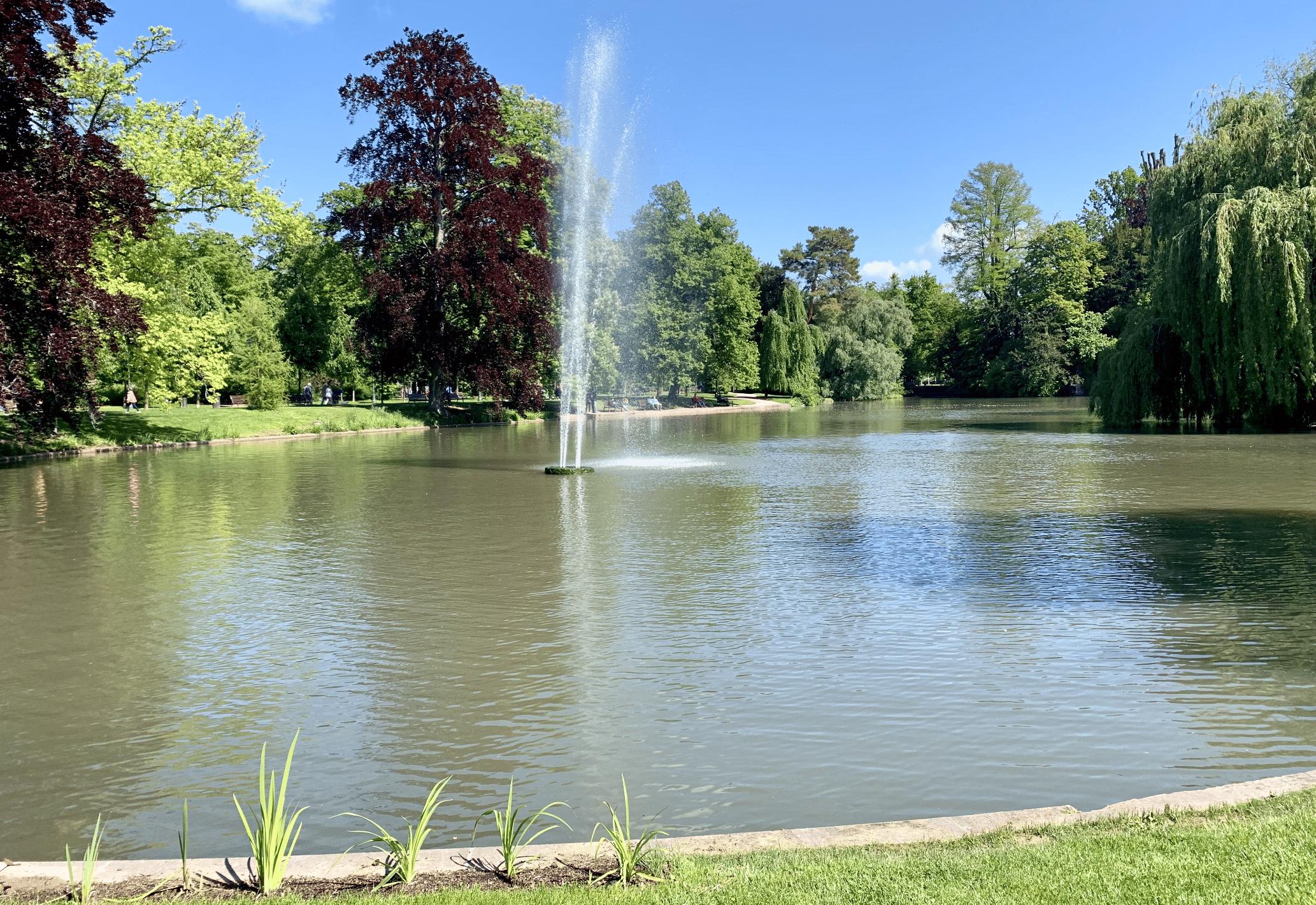 le parc de l'orangerie