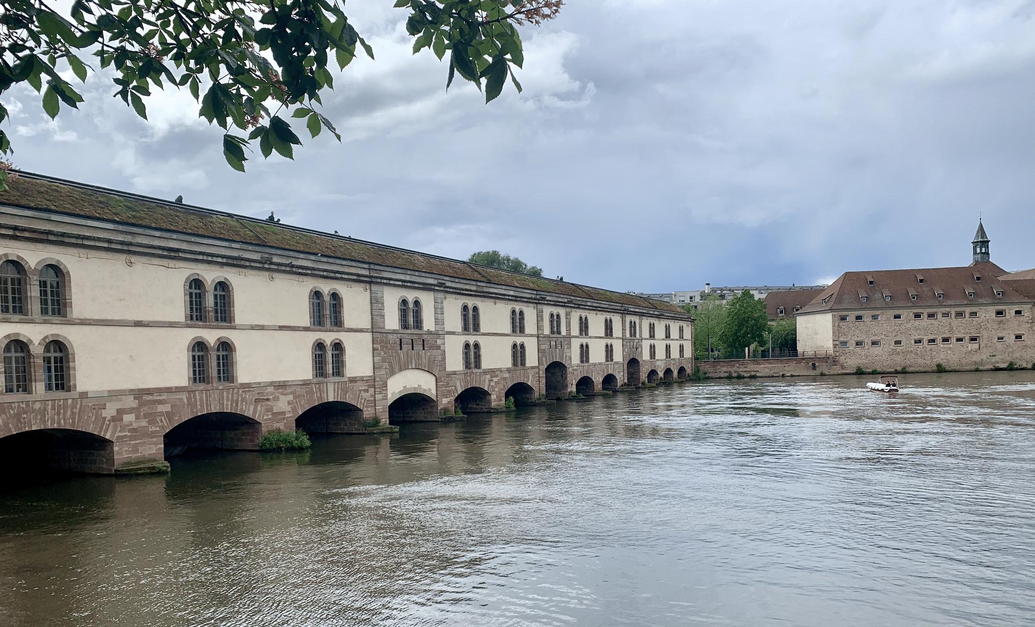 le barrage vauban a strasbourg