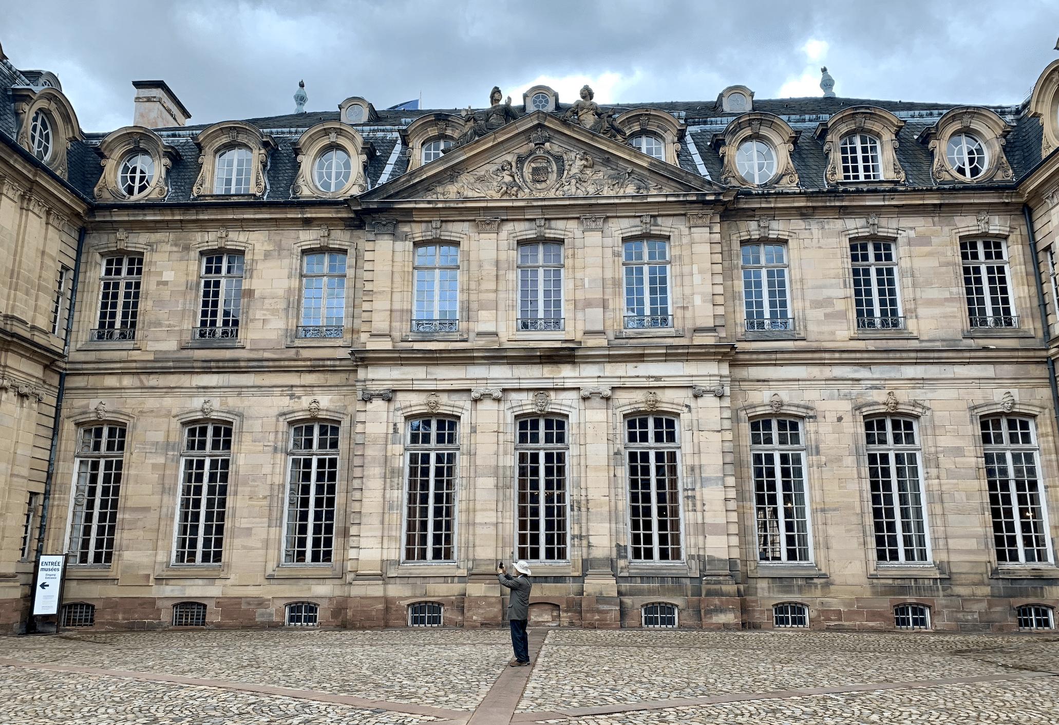 le palais rohan a strasbourg