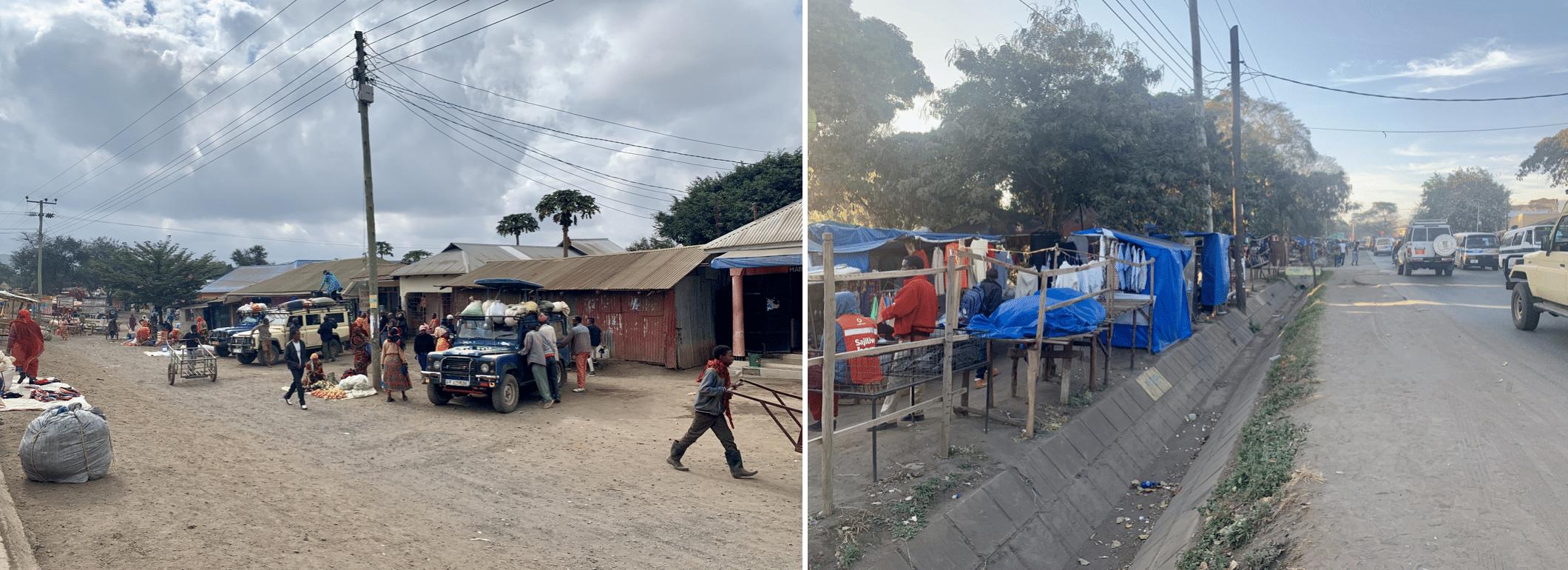 la ville d'arusha en tanzanie