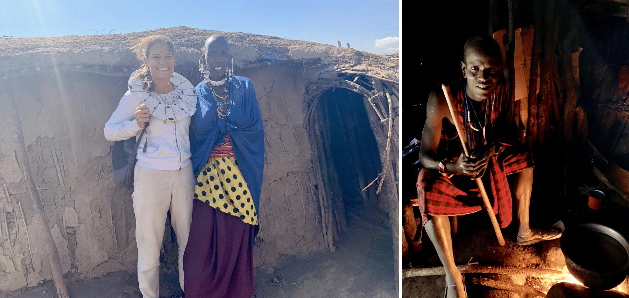 visite d'un village massai