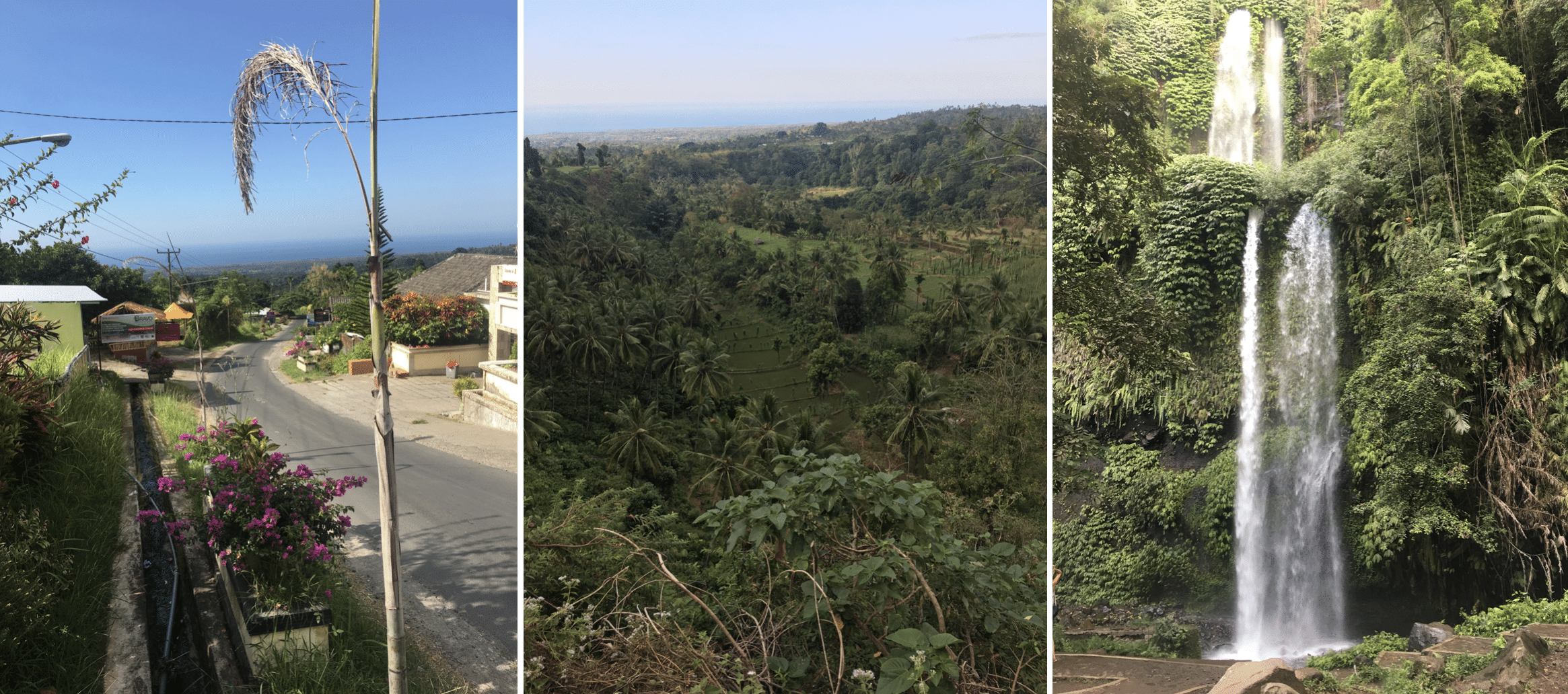 vues du village de senaru a lombok