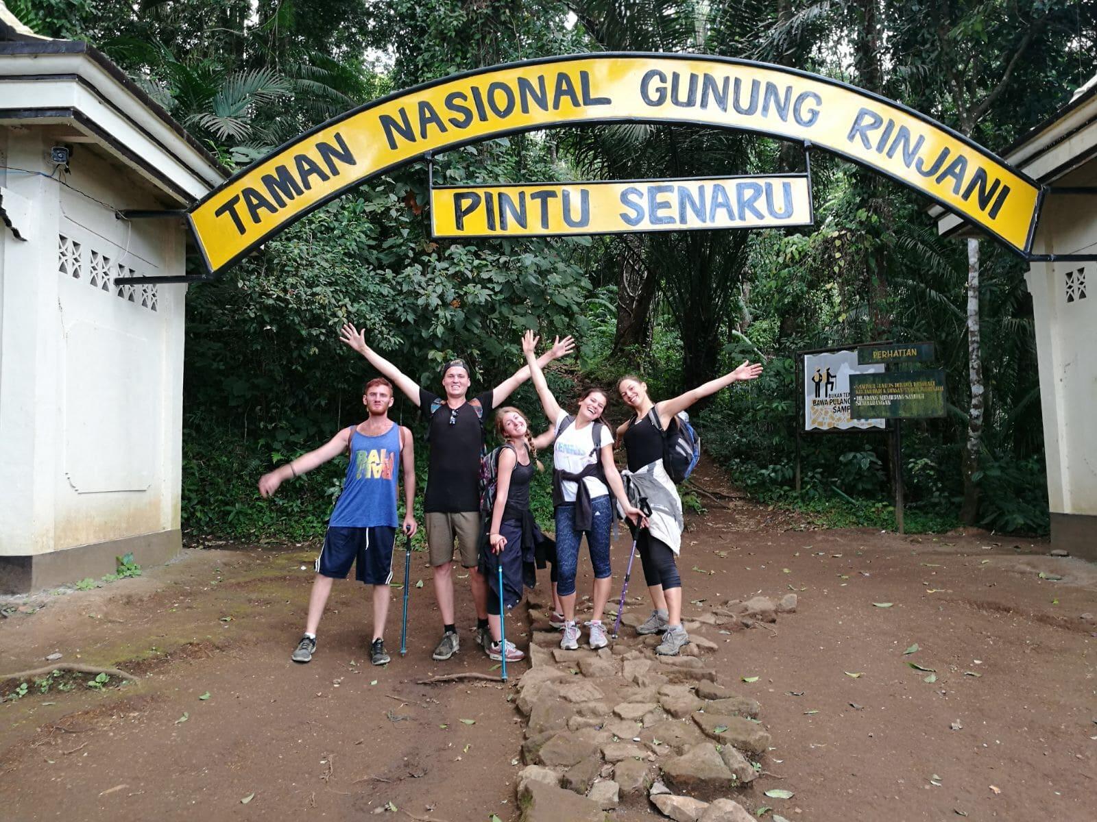 jour 3 et fin du trek sur le mont rinjani