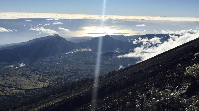 panorama pendant le trek sur le mont rinjani
