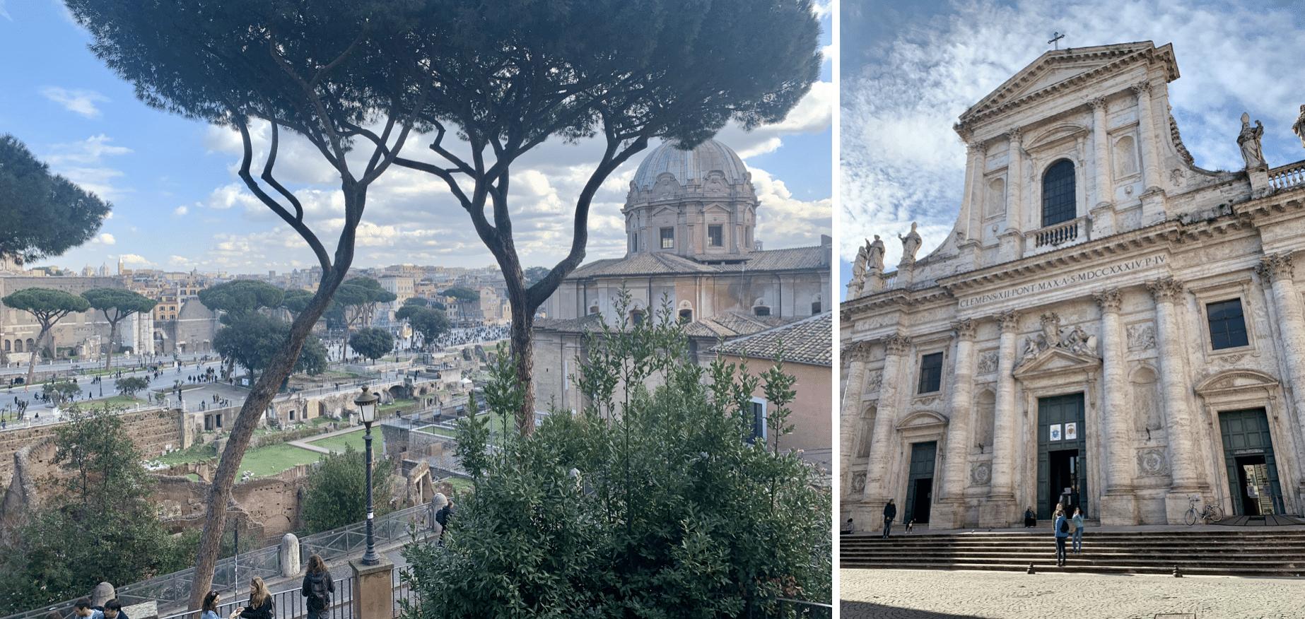 visiter rome : les paysages