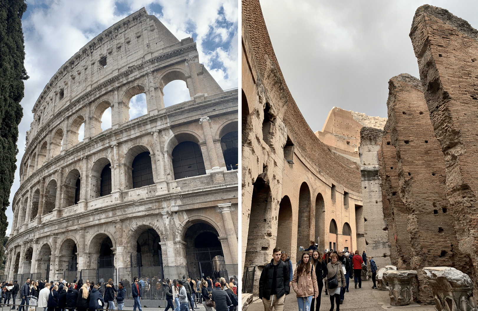 visiter rome : le colisee