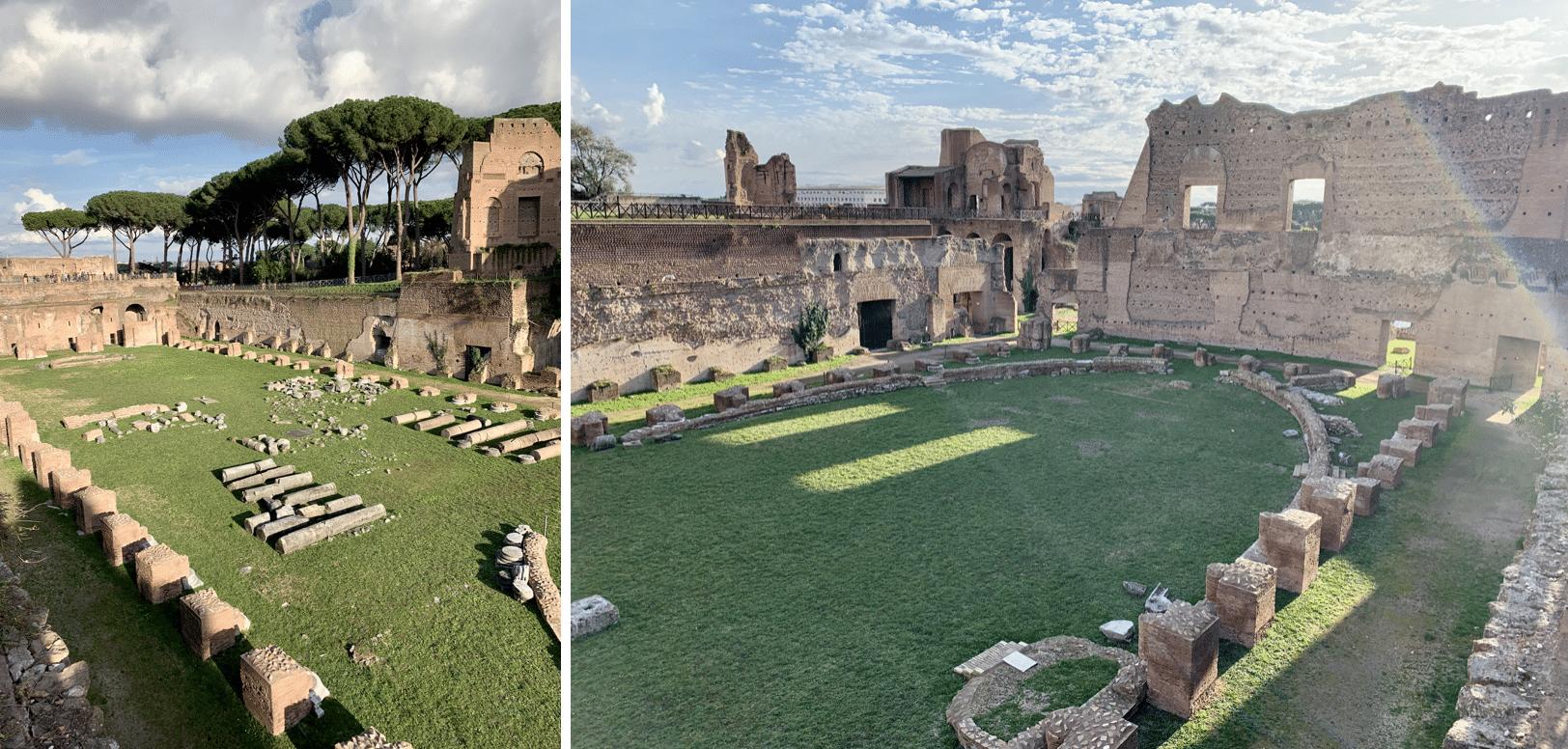 visiter rome : le mont palatin