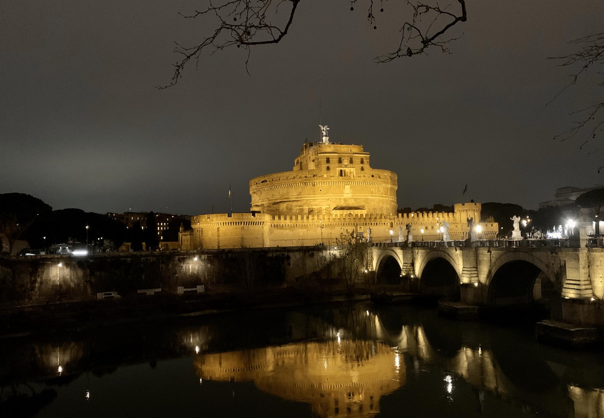 visiter rome : le chateau saint ange