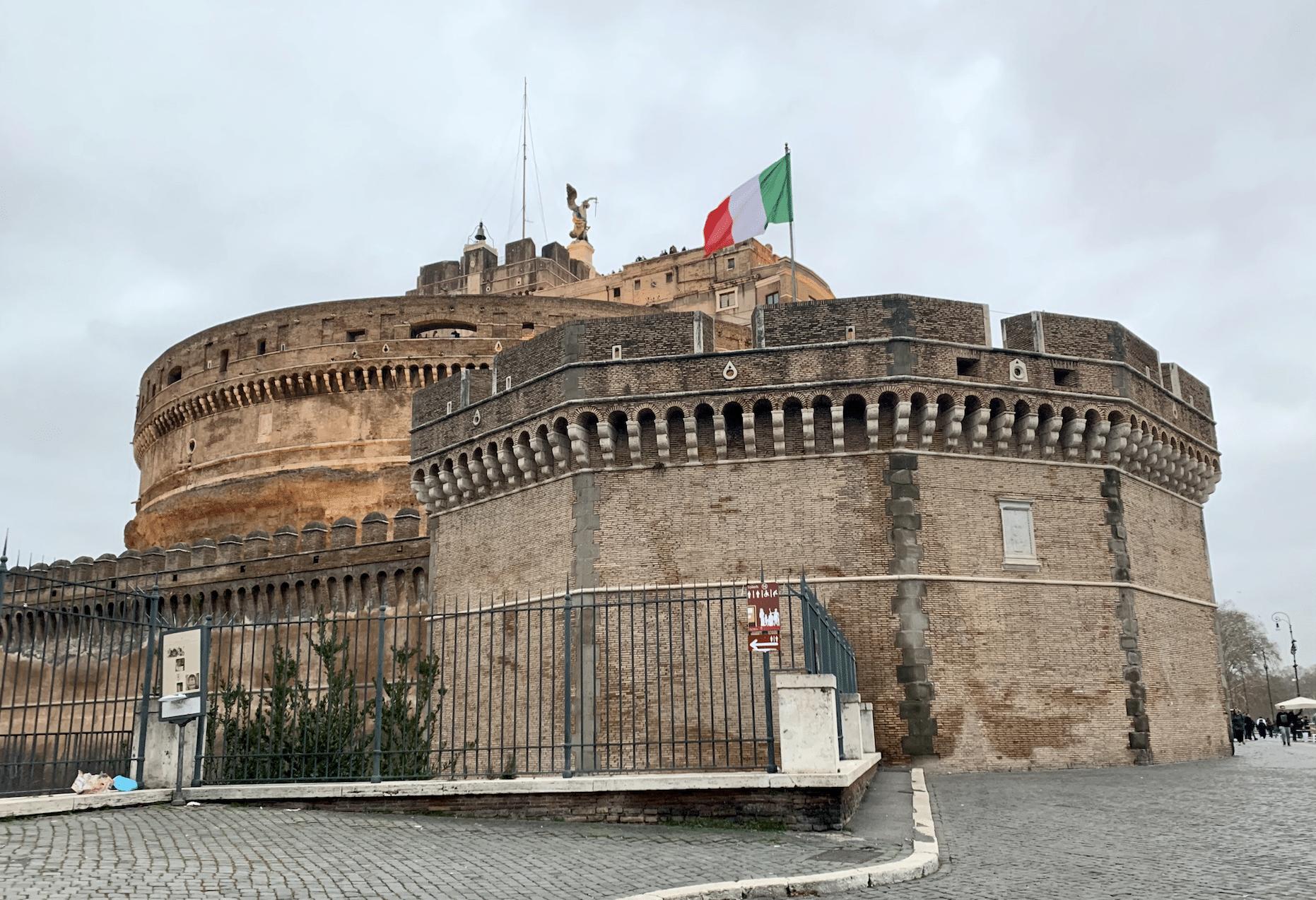 chateau saint ange a rome