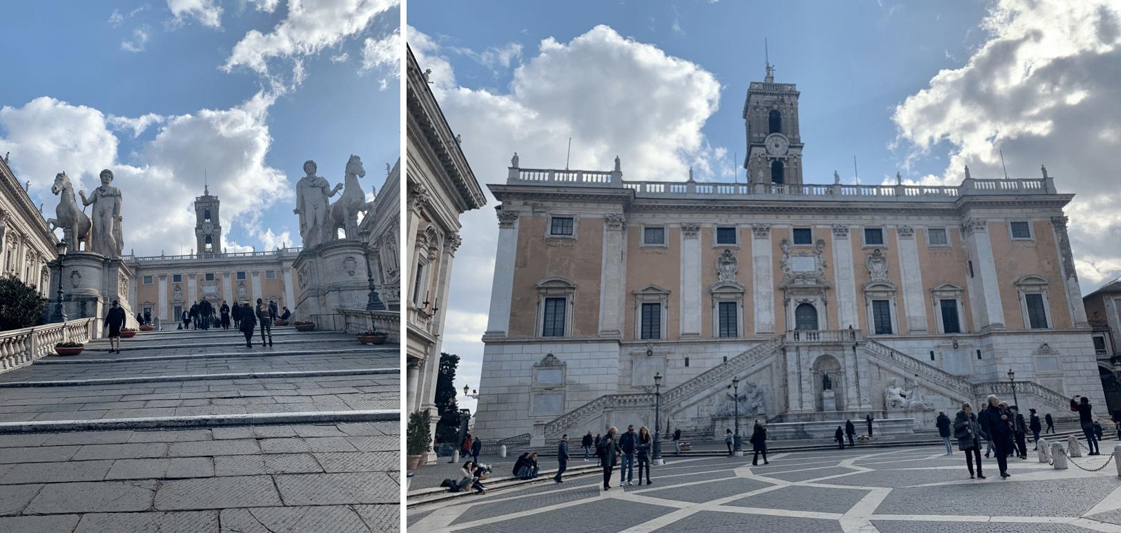 place du capitole a rome