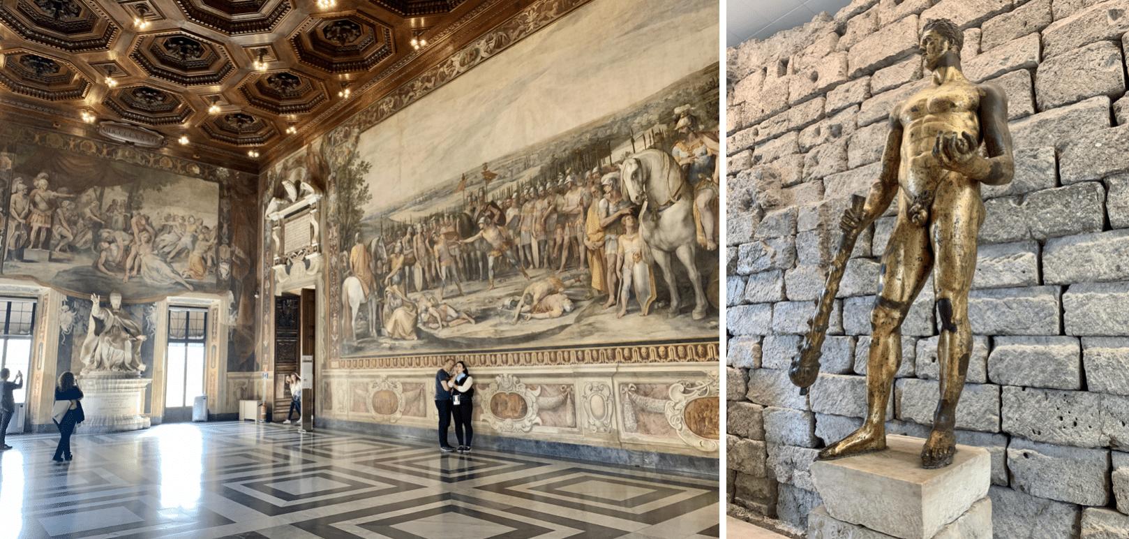 visiter rome : les musees du capitole