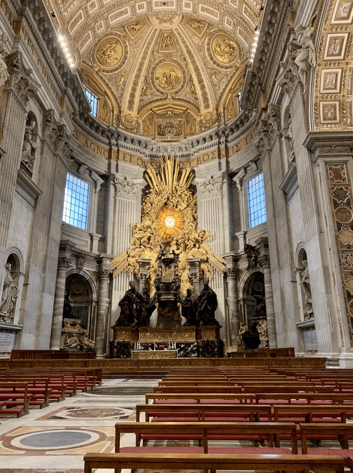 la chaire de saint pierre au vatican