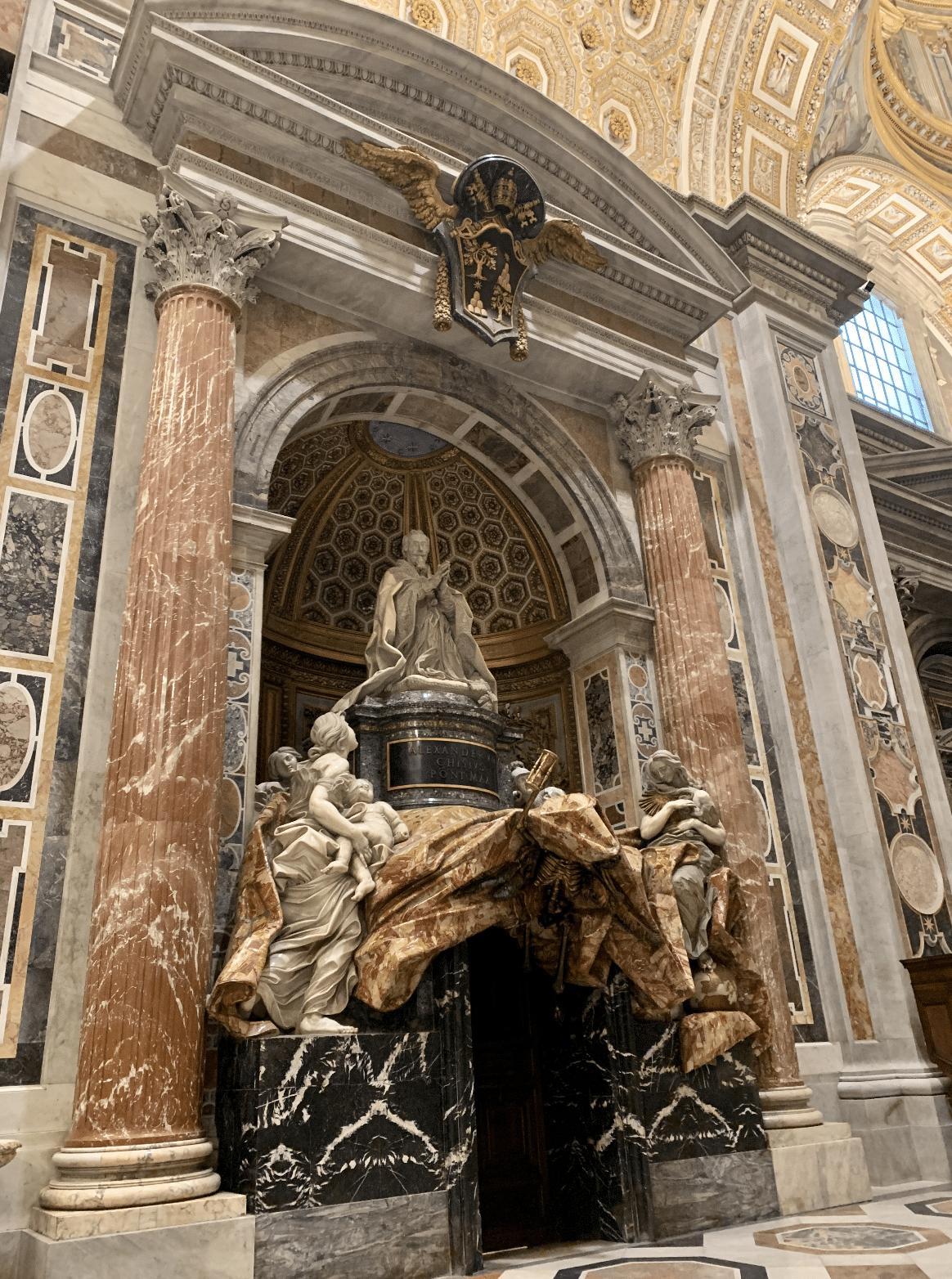 monument funeraire du pape alexandre 7