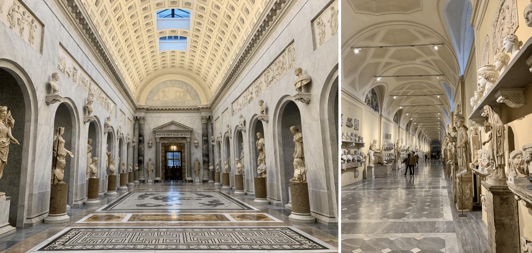galeries du musee chiaramonti