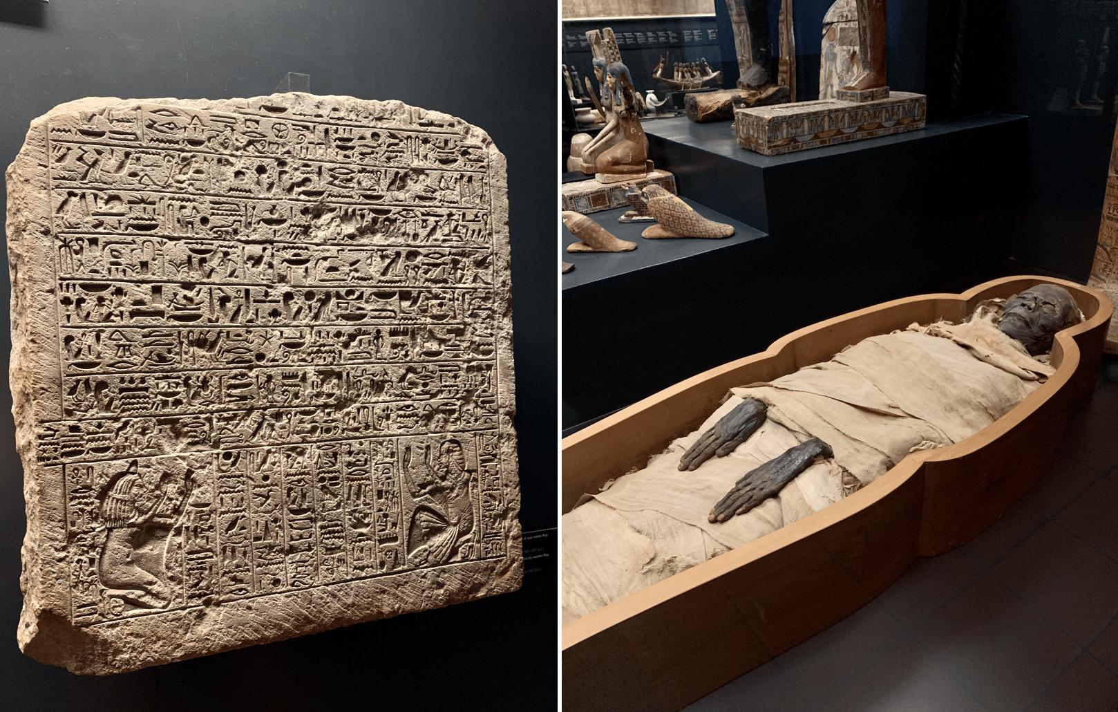 musee gregorien egyptien au vatican