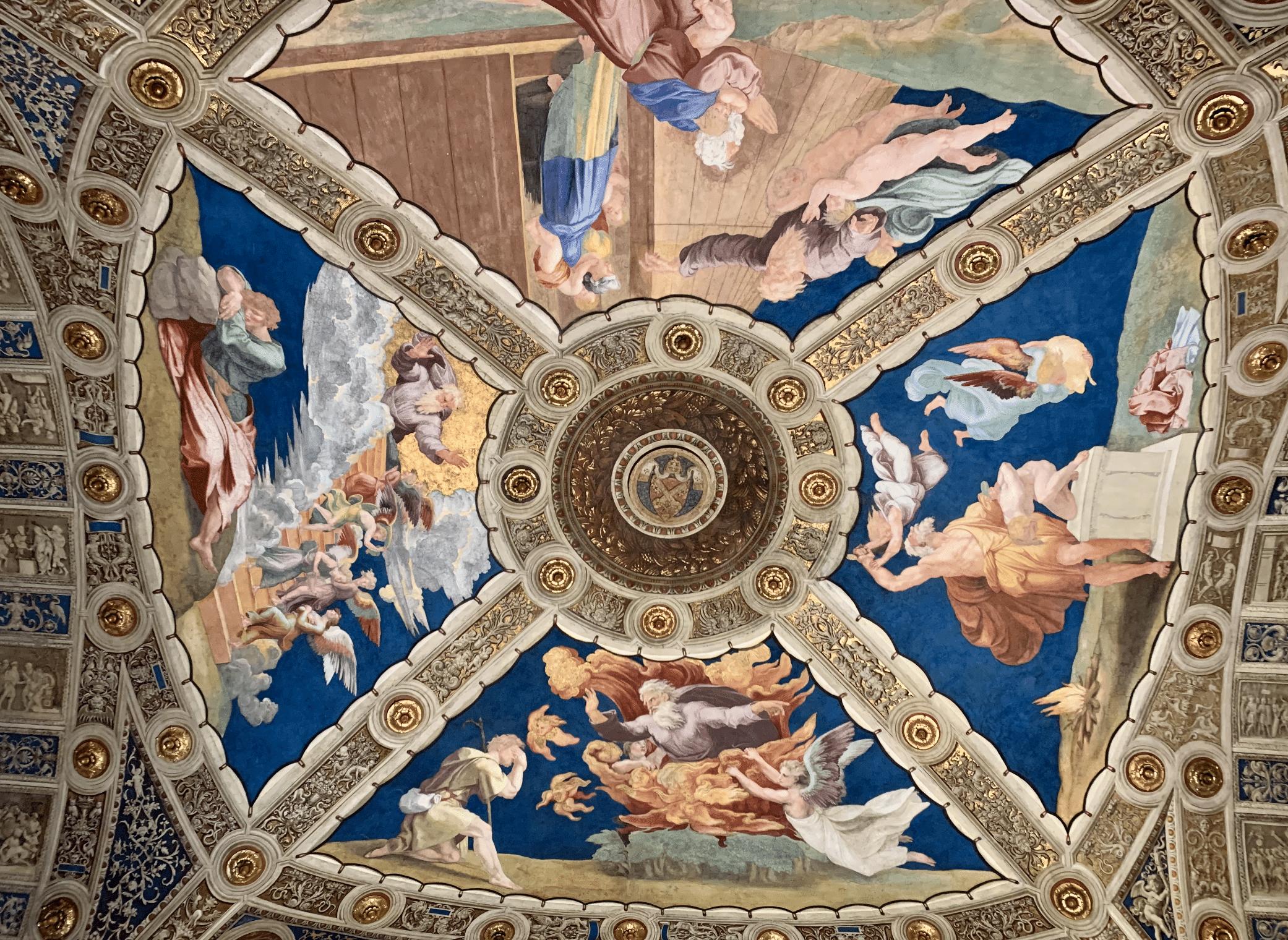 chambres de raphael dans les musees du vatican