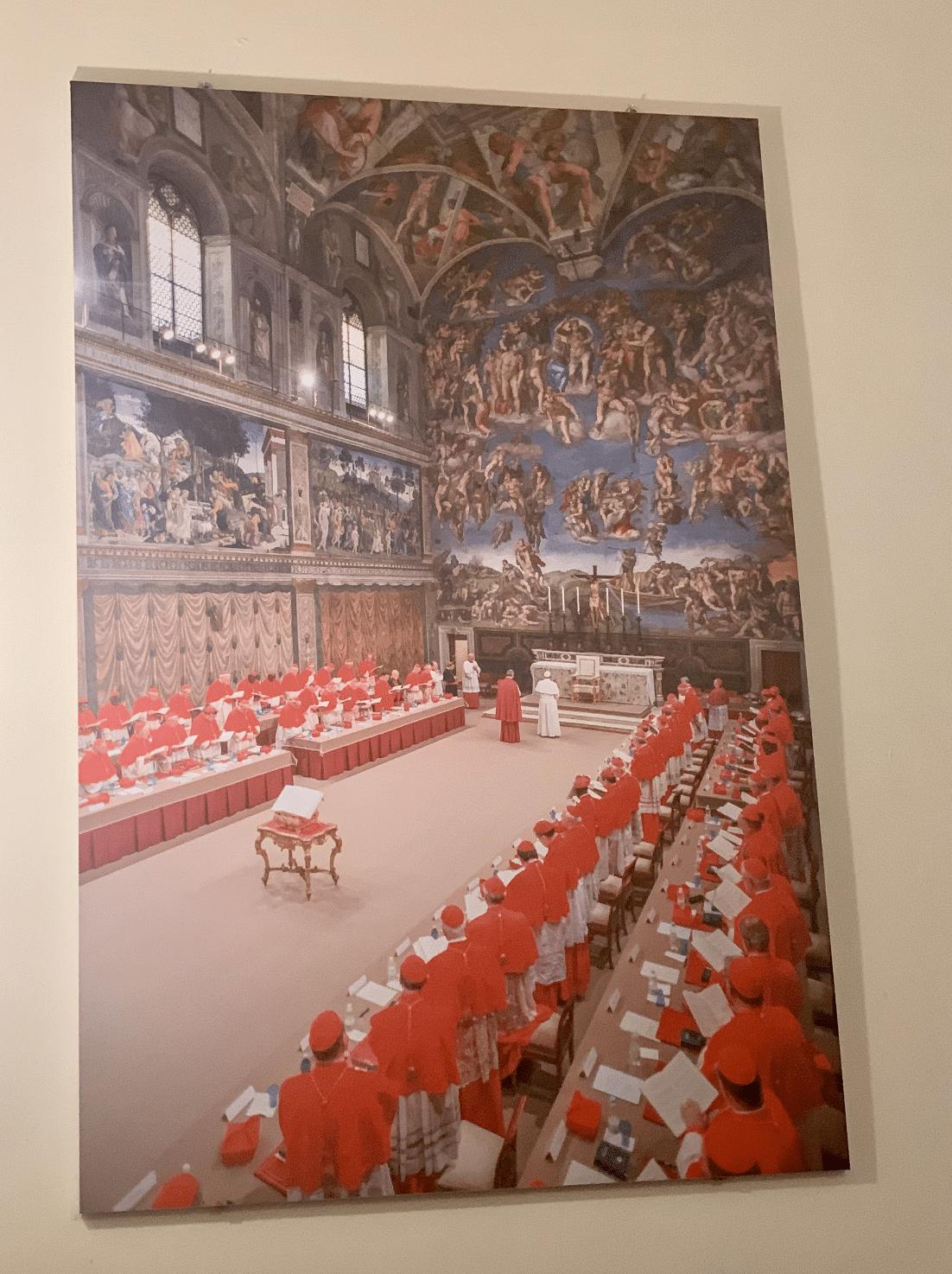 tableau de la chapelle sixtine