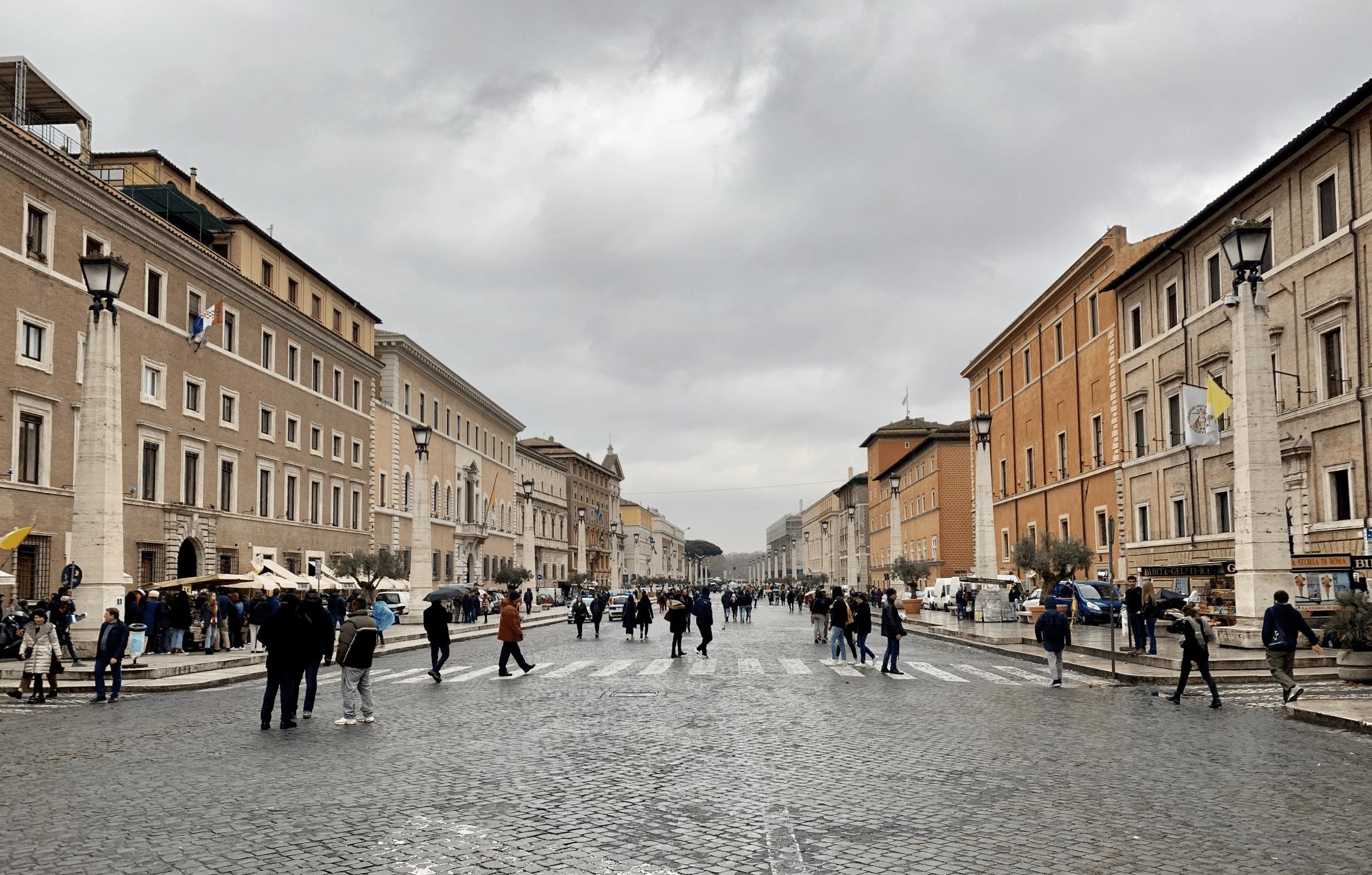 rue de la reconciliation a rome