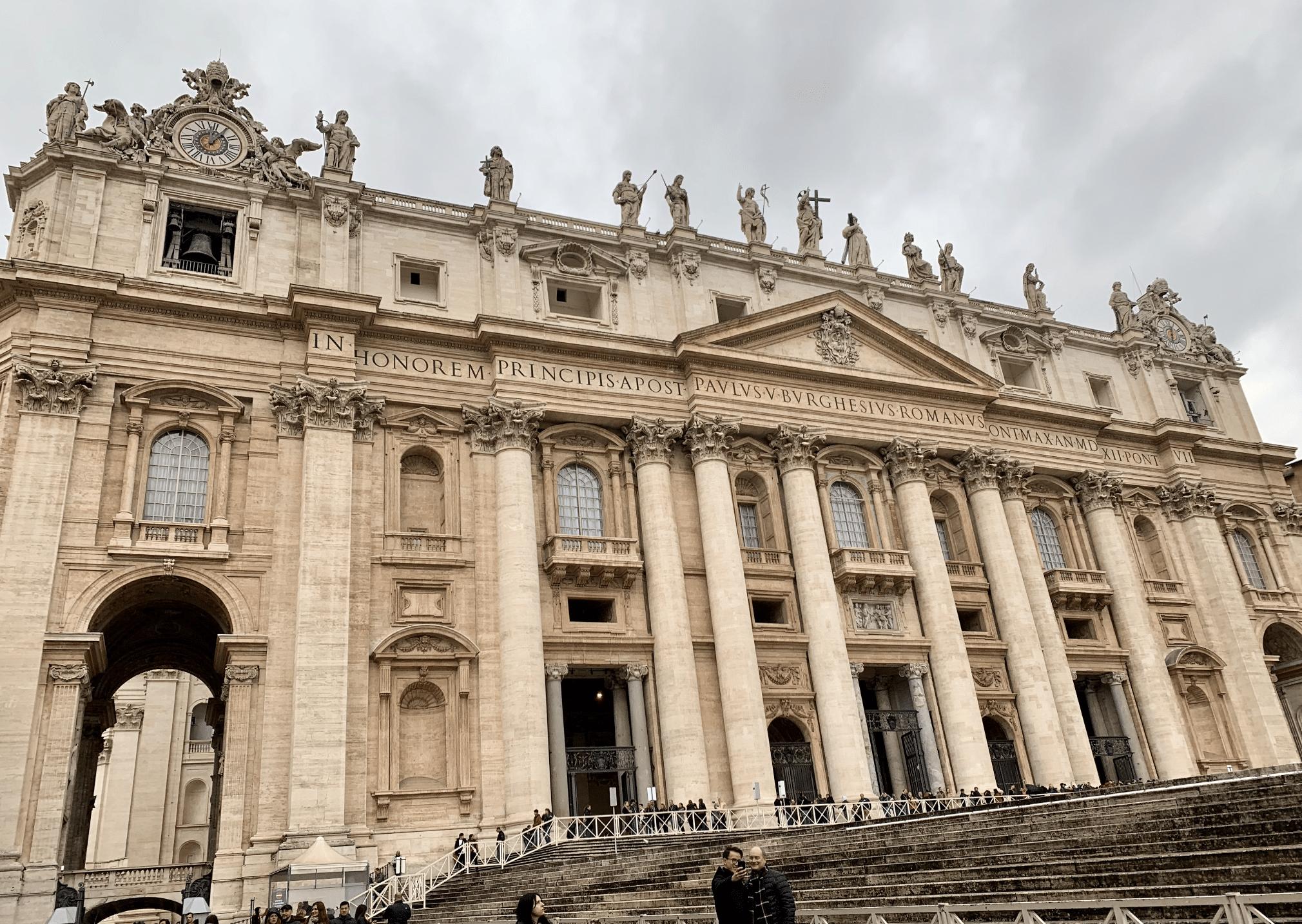 visite du vatican : la basilique saint pierre