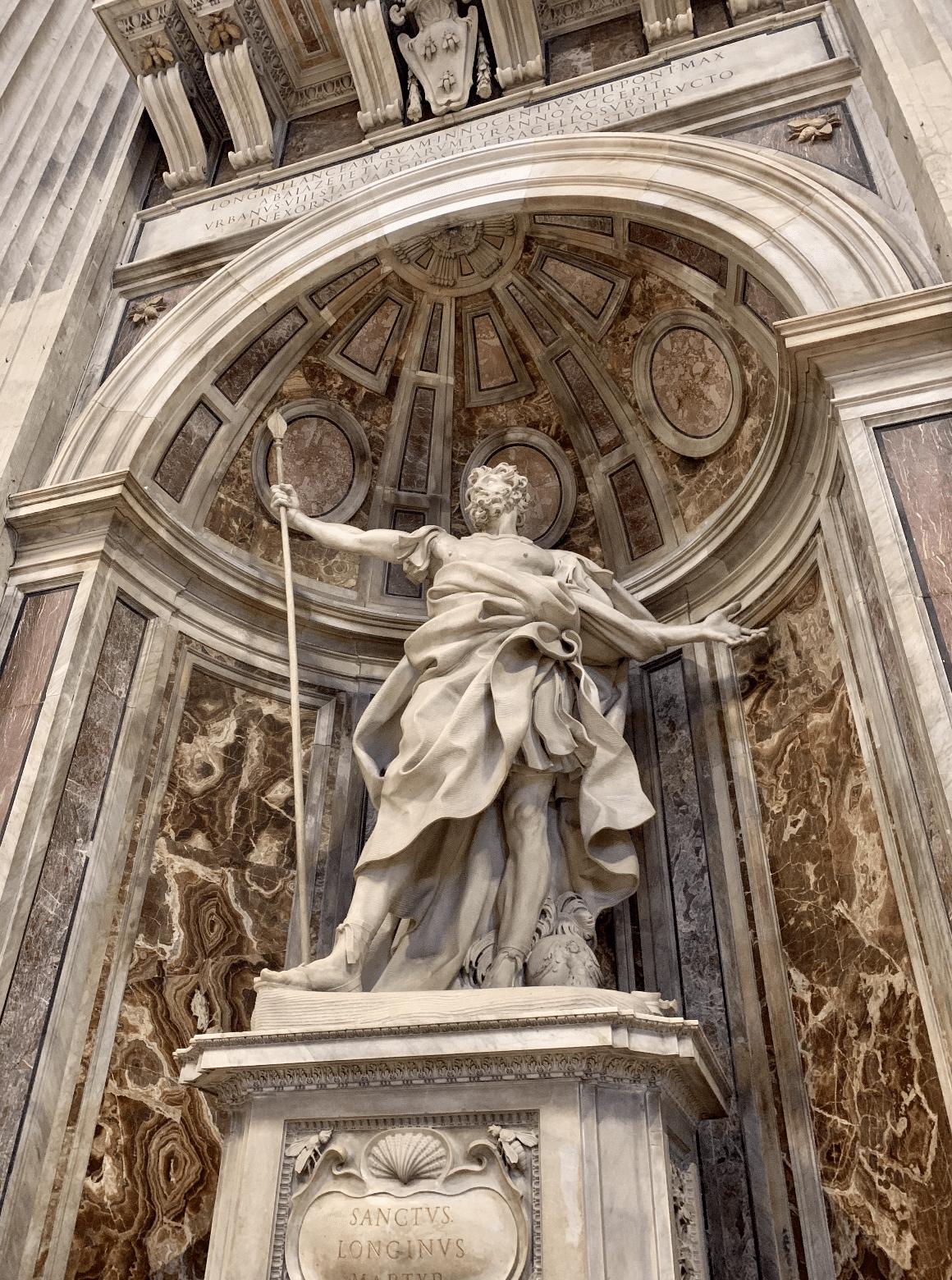 visite du vatican : oeuvre du bernin