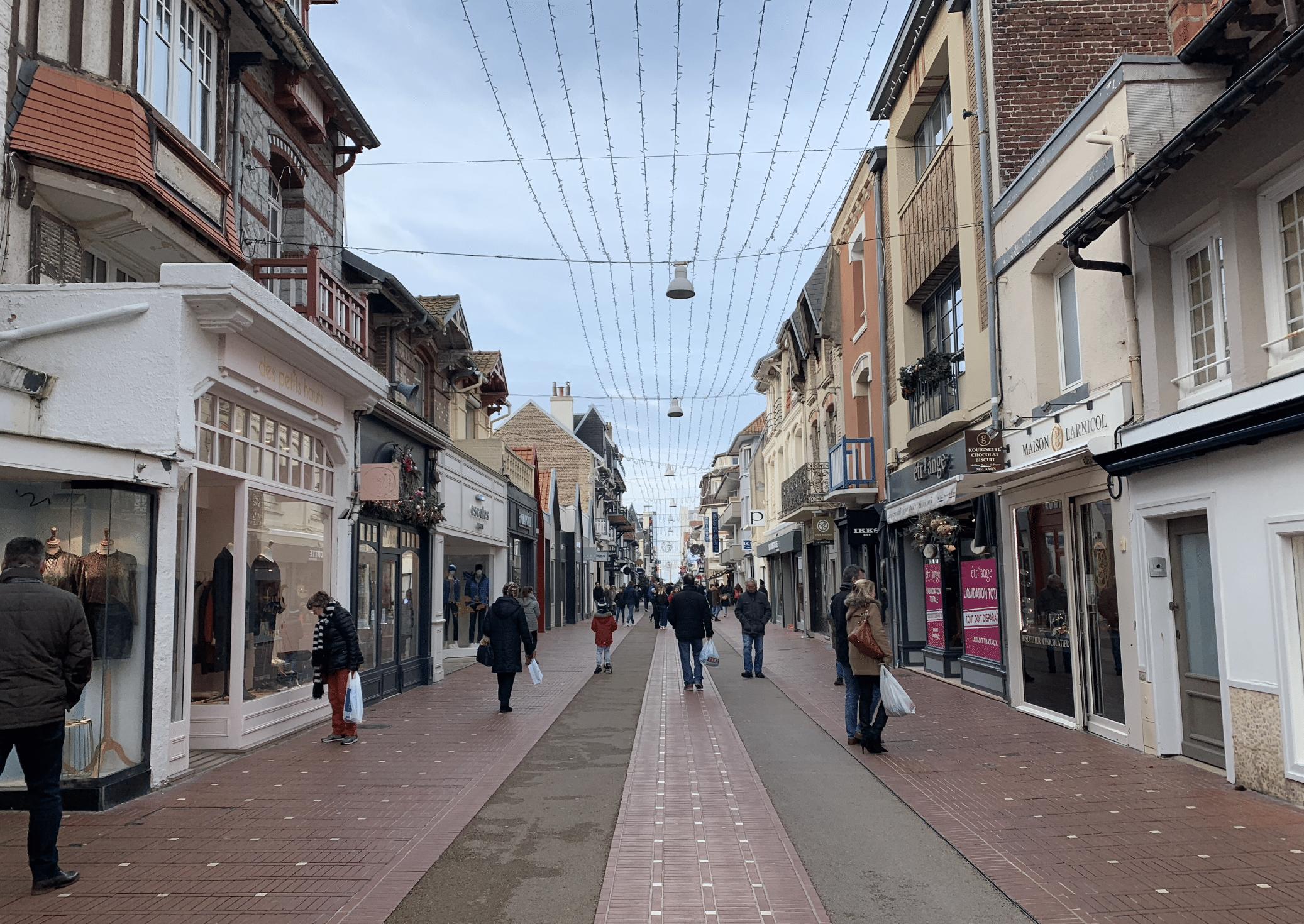 un weekend au touquet : le centre ville