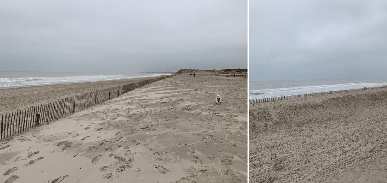 un weekend au touquet : la plage