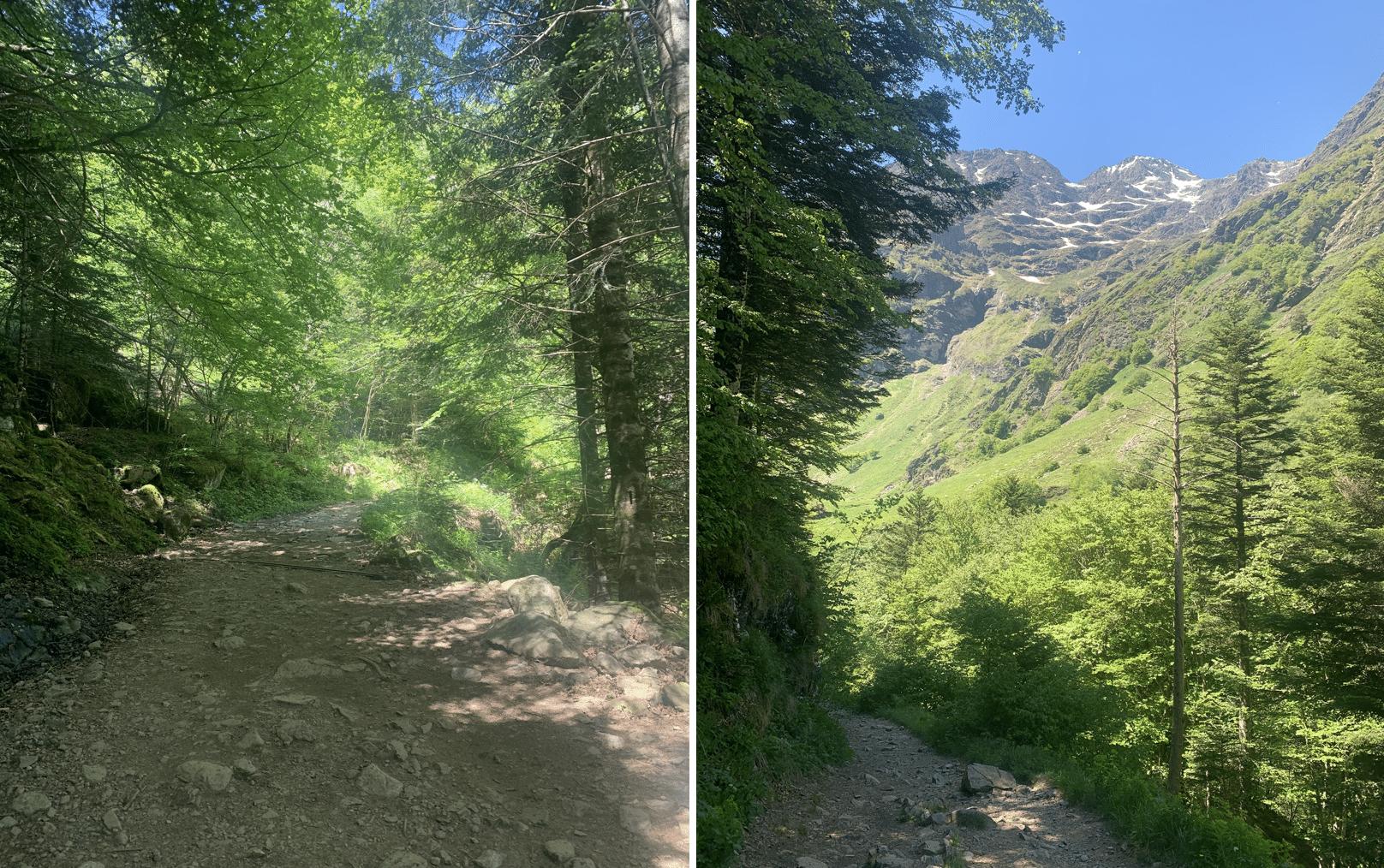 deuxieme jour de randonnee dans les pyrenees