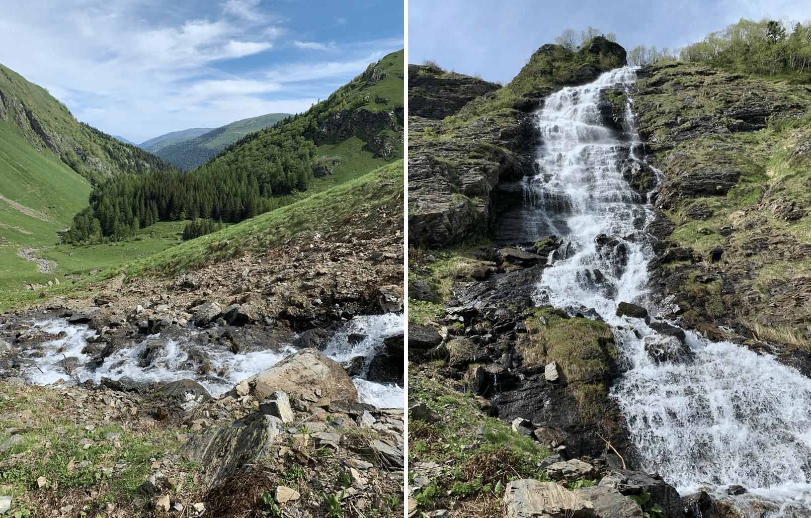 randonnee dans les pyrenees, jour 1