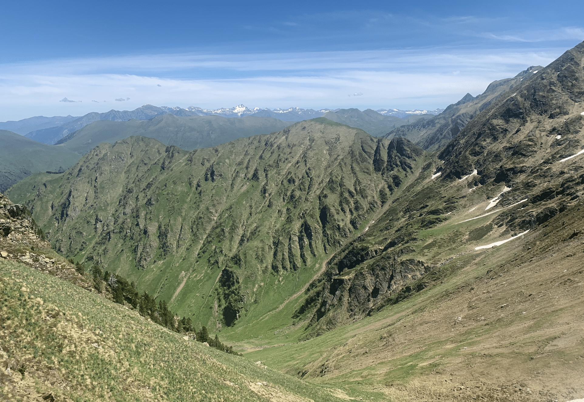 paysage randonnee pyrenees