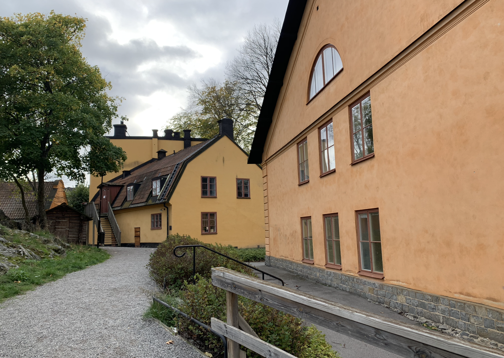 architecture typique dans le quartier d'ostermalm