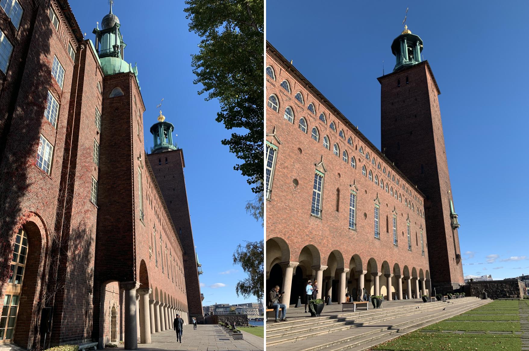 l'hotel de ville de stockholm