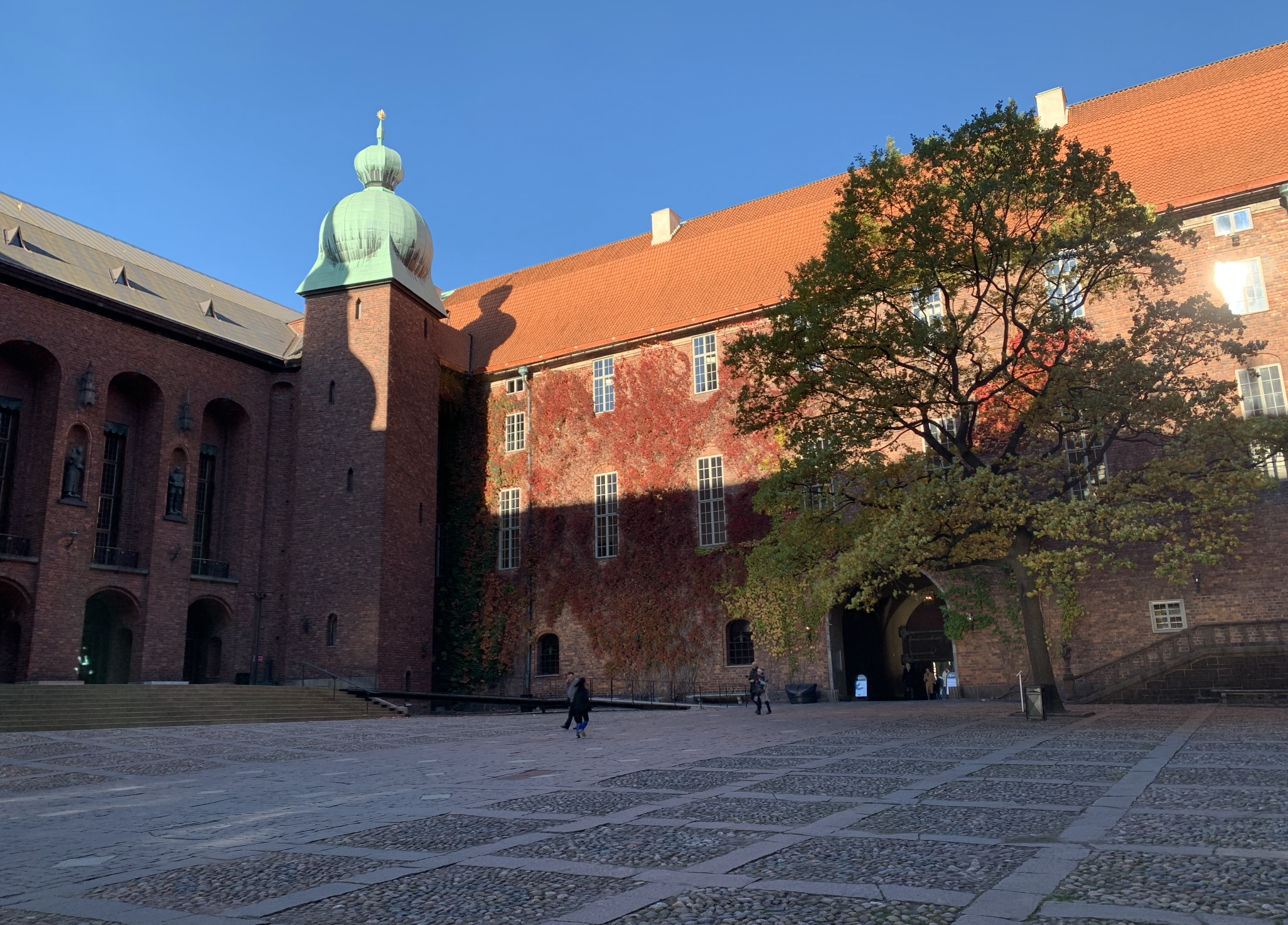 que faire a stockholm : la visite de l'hotel de ville