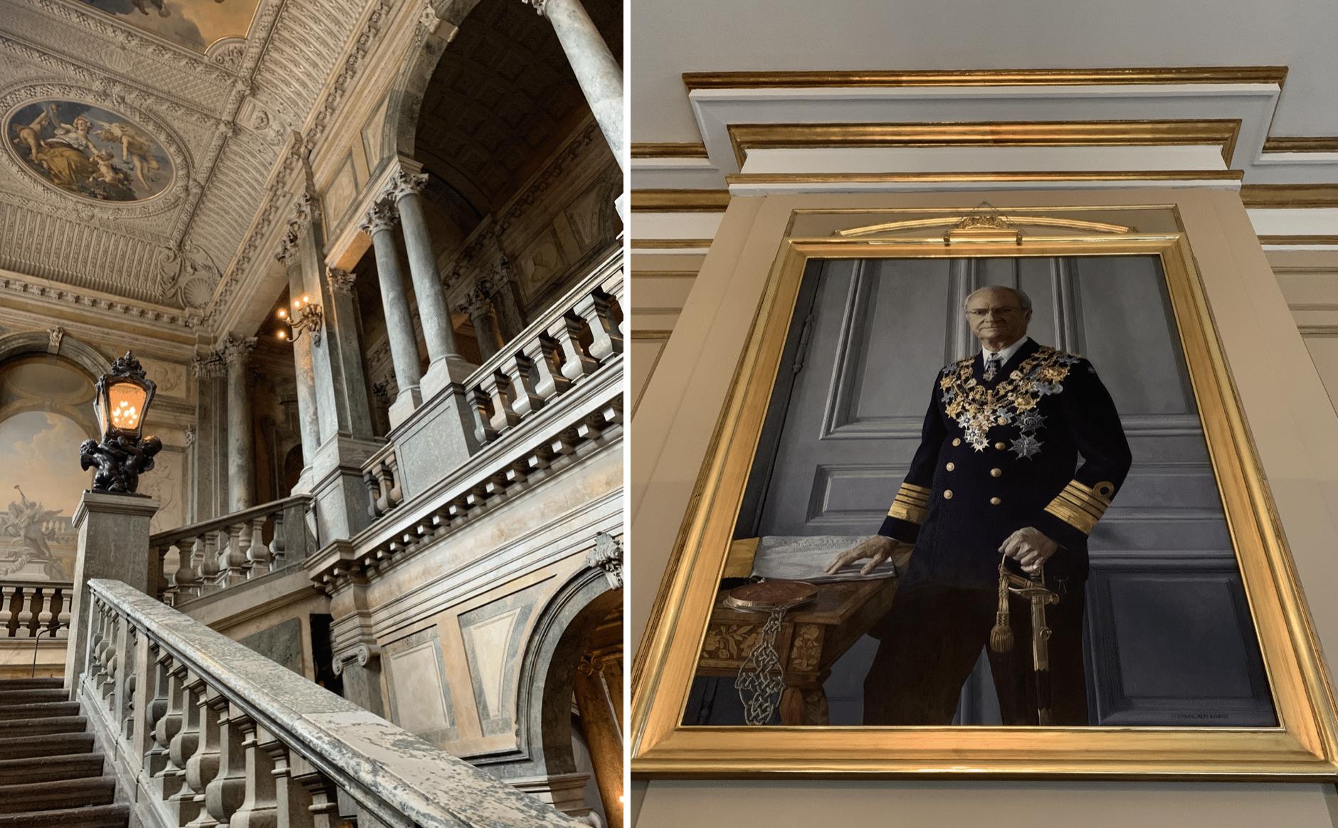 interieur du kungliga slottet