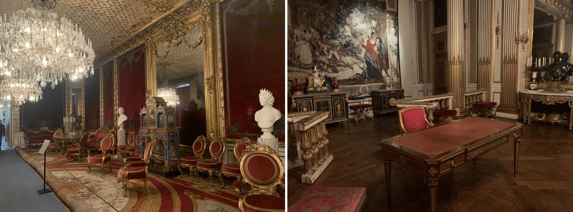 interieur du palais royal de stockholm