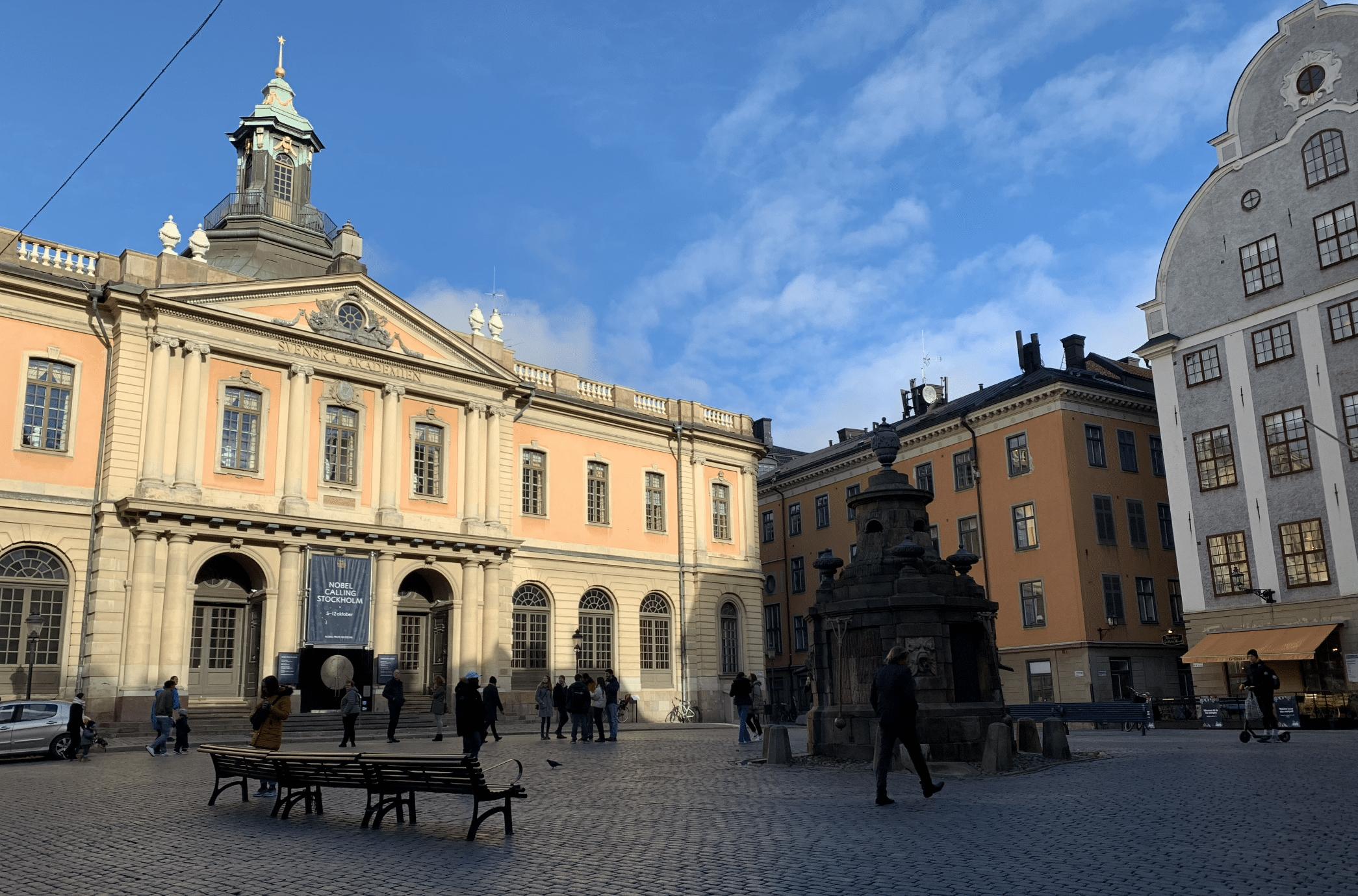 que faire a stockholm : le musee nobel