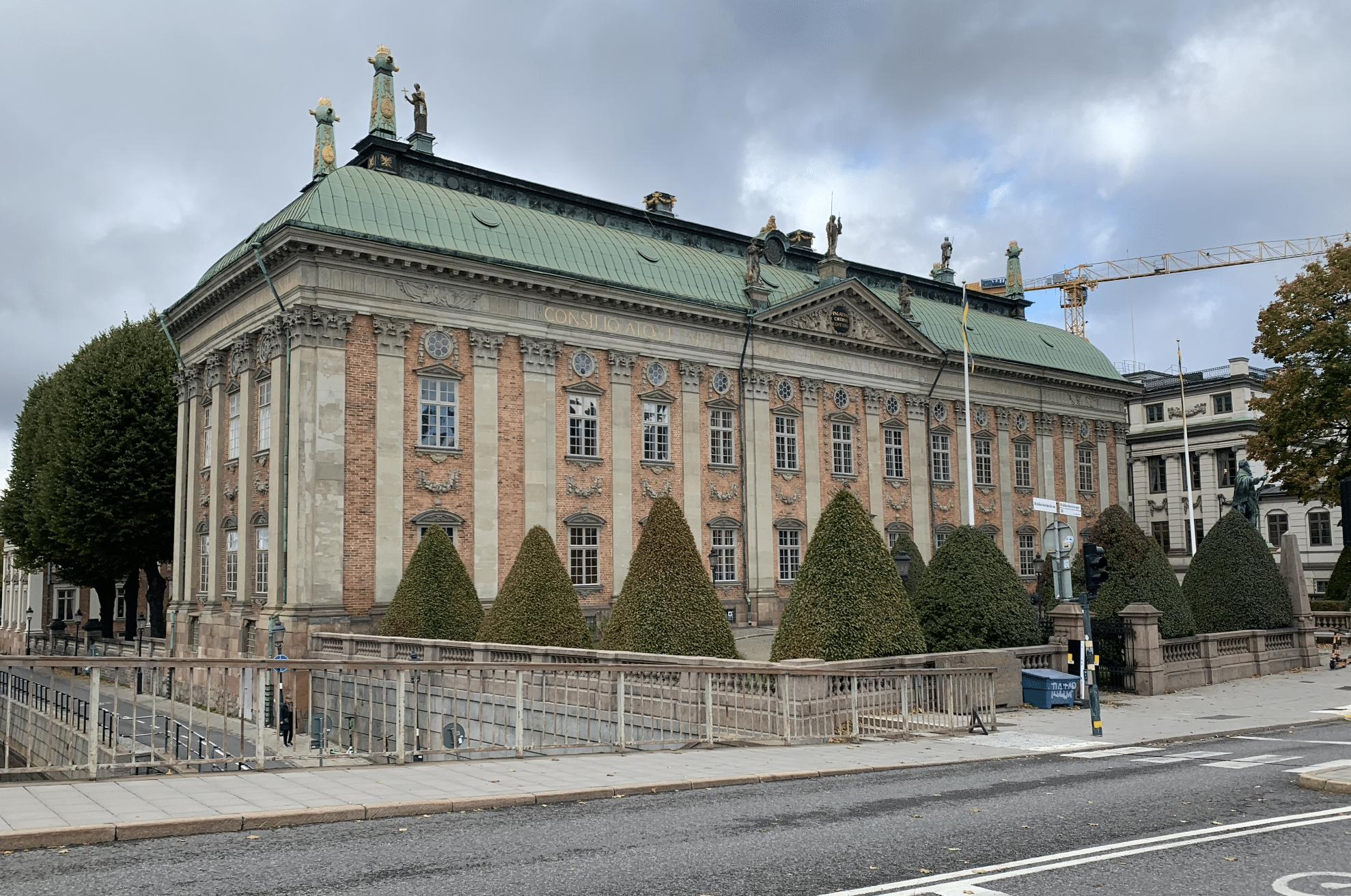 la maison de la noblesse de stockholm