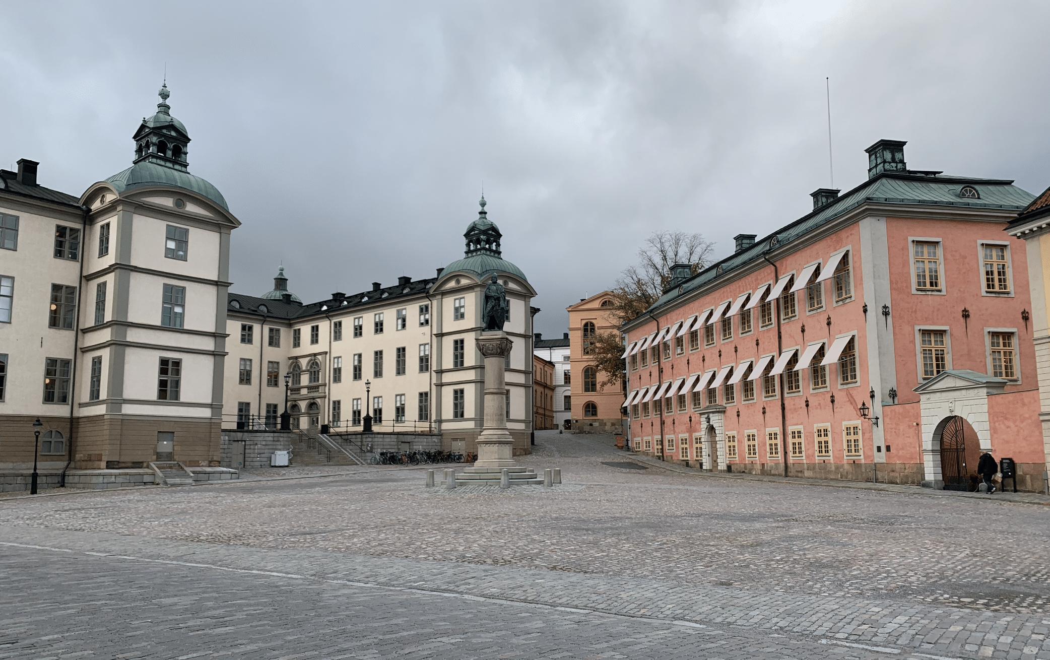 que faire a stockholm : se balader sur l'ile de riddarholmen