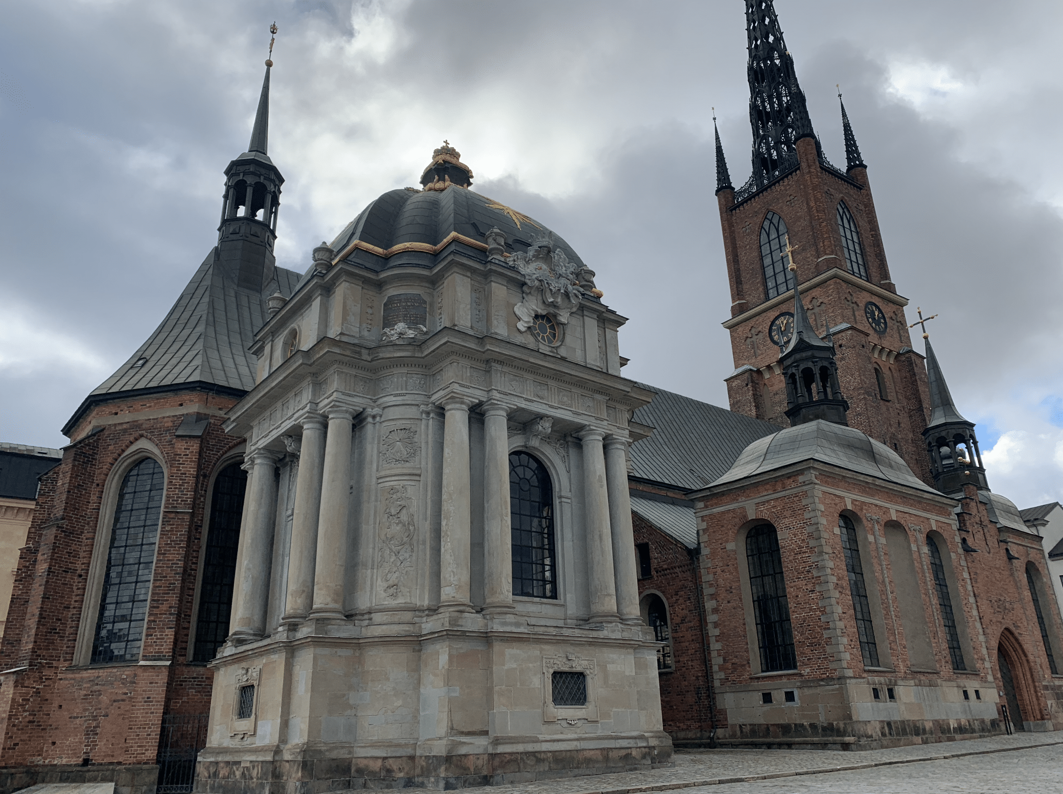 l'eglise de riddarholmen a gamla stan a stockholm