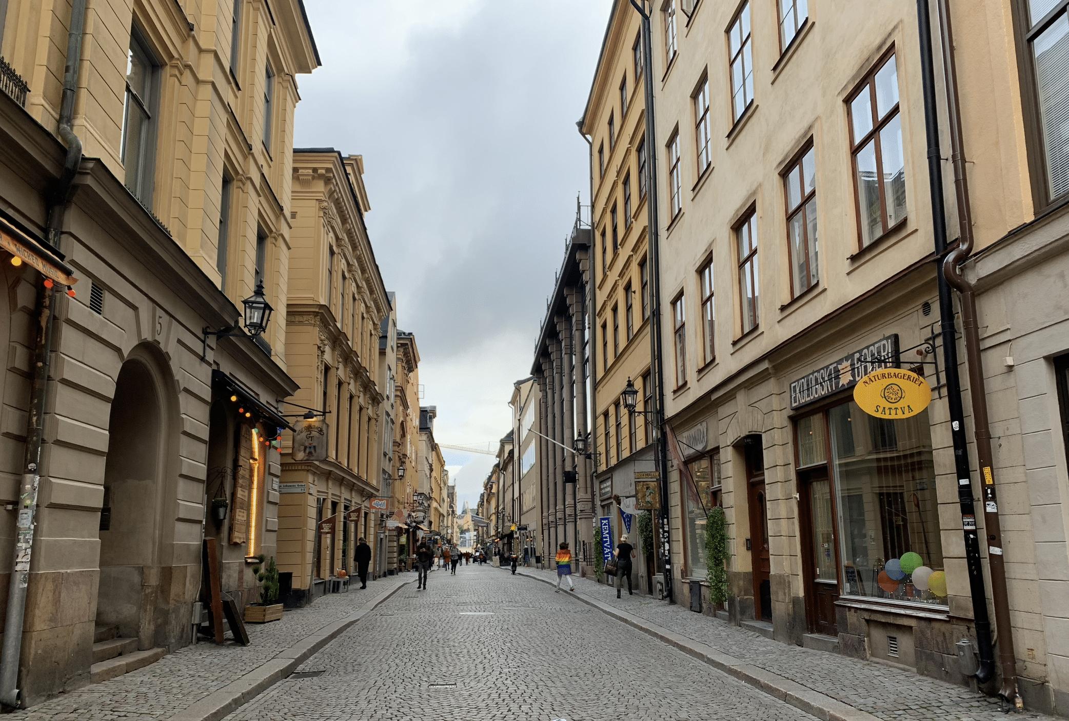 que faire a stockholm : le centre ville gamla stan