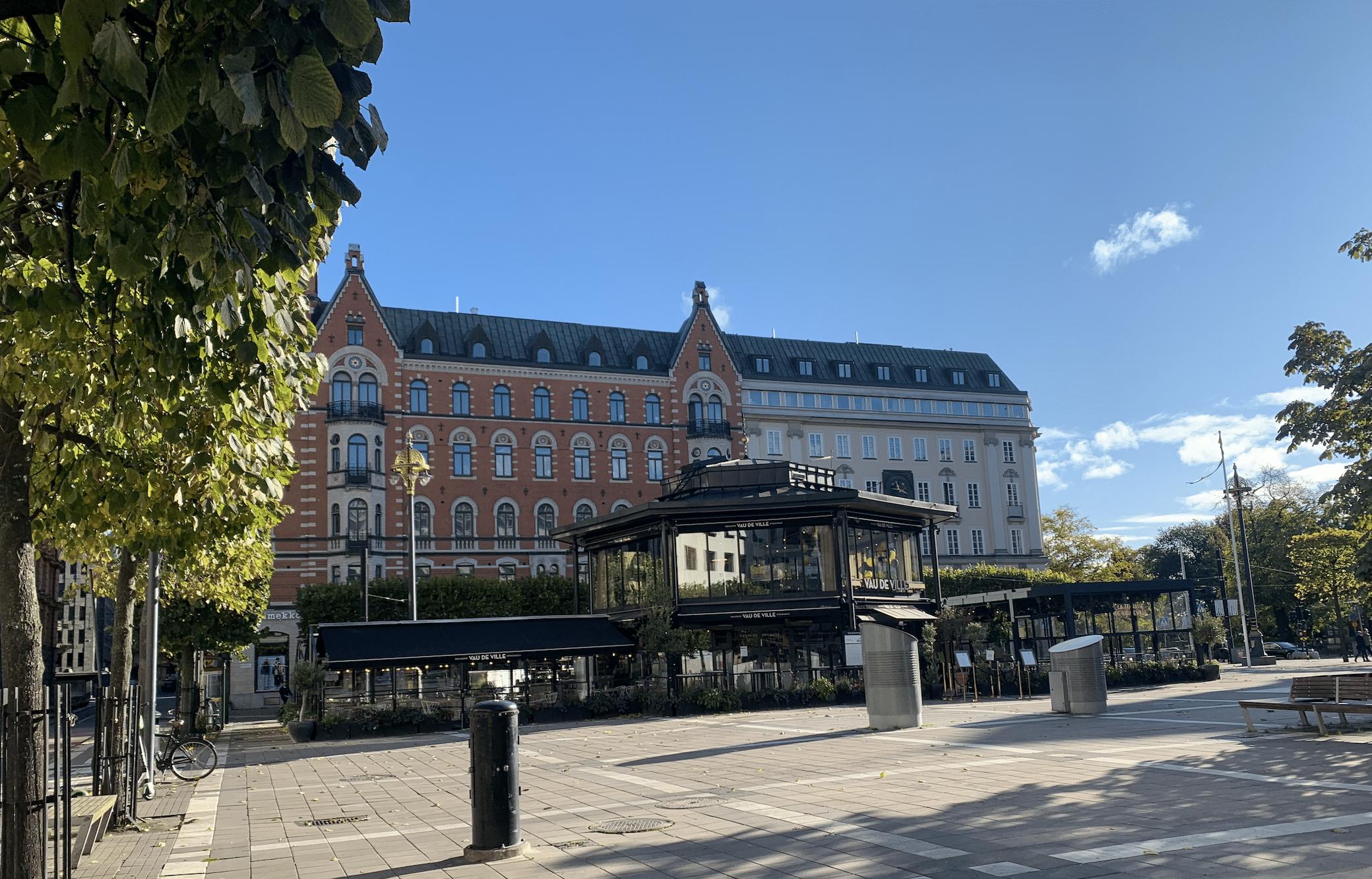 la place de norrmalmstorg