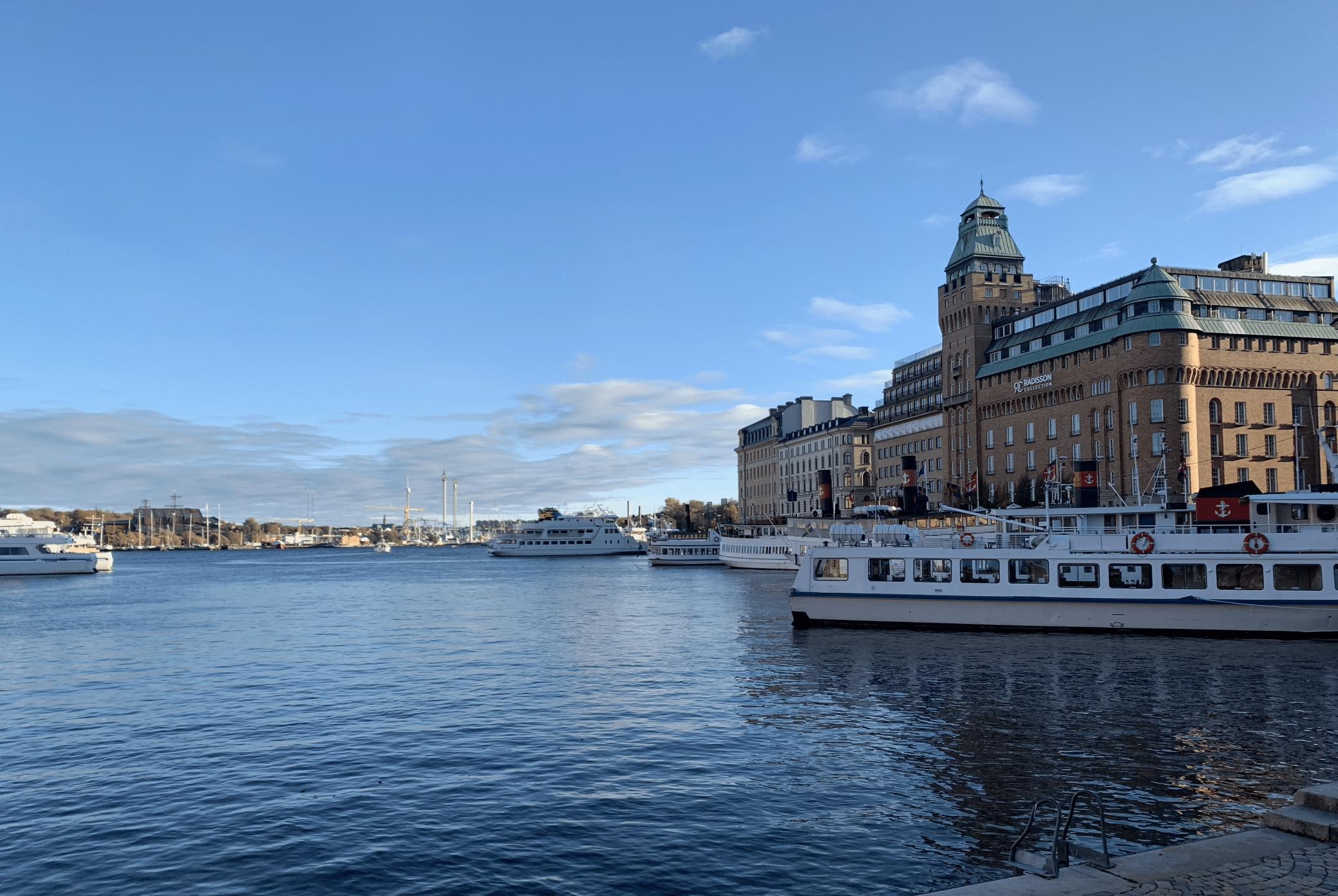 la belle architecture du quartier de norrmalm