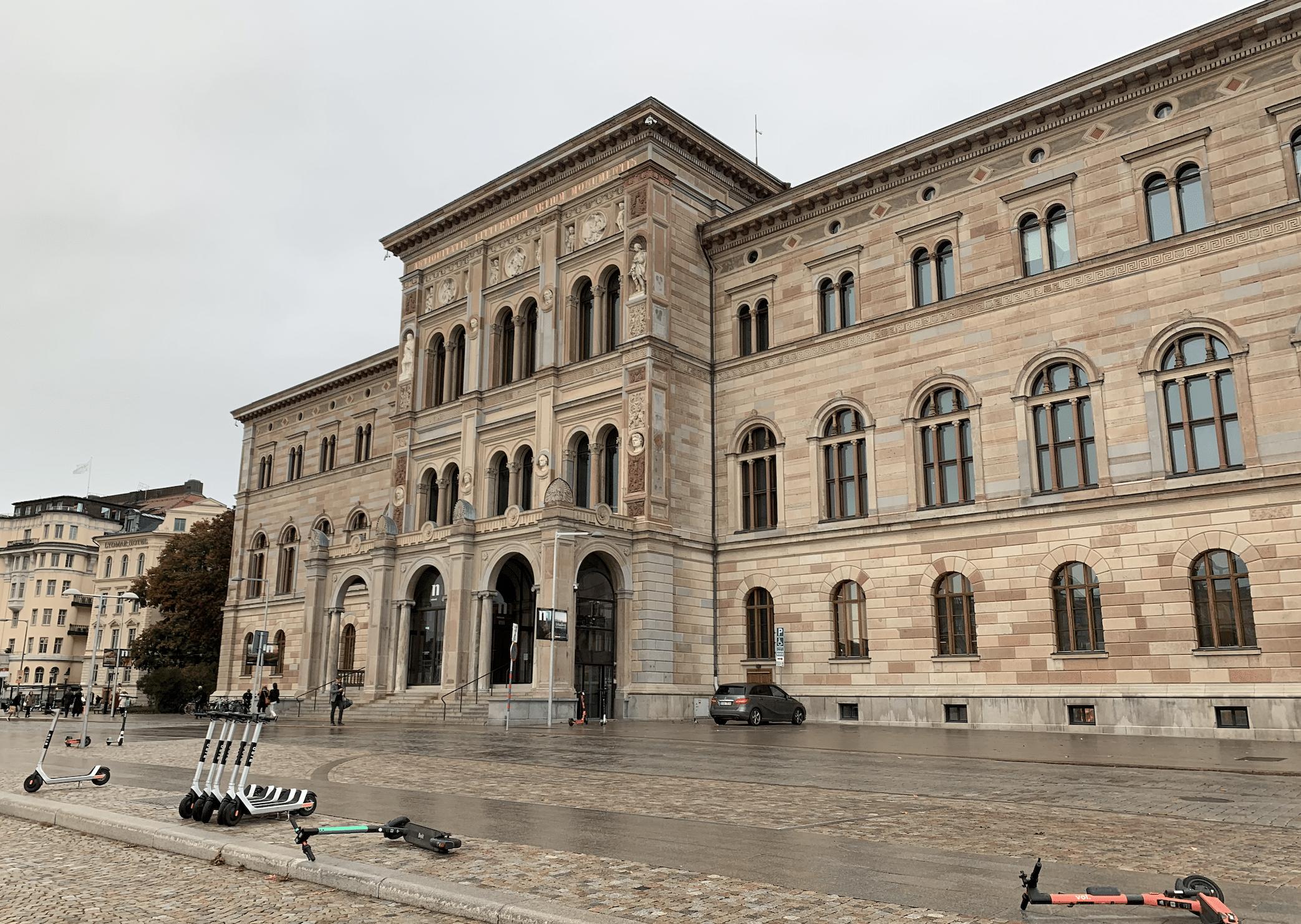 le nationalmuseeum de stockholm