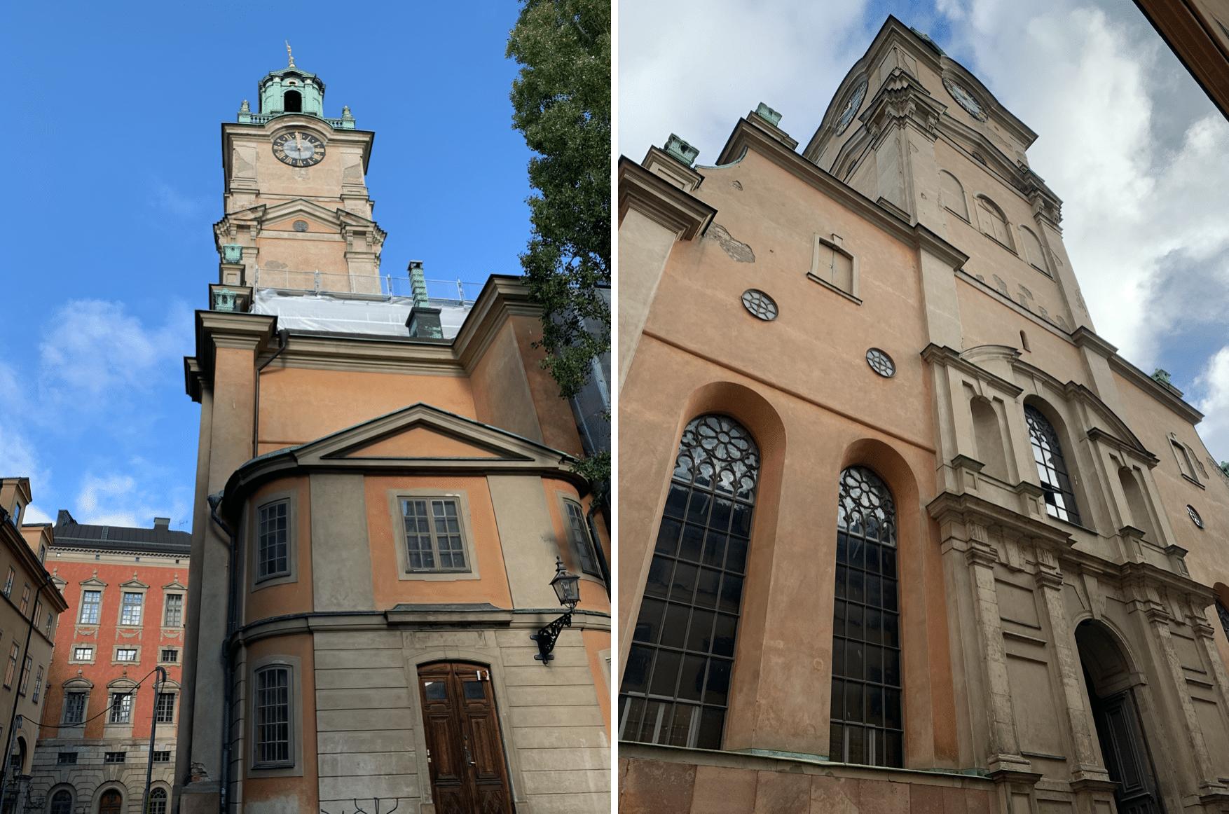 la cathedrale royale de stockholm