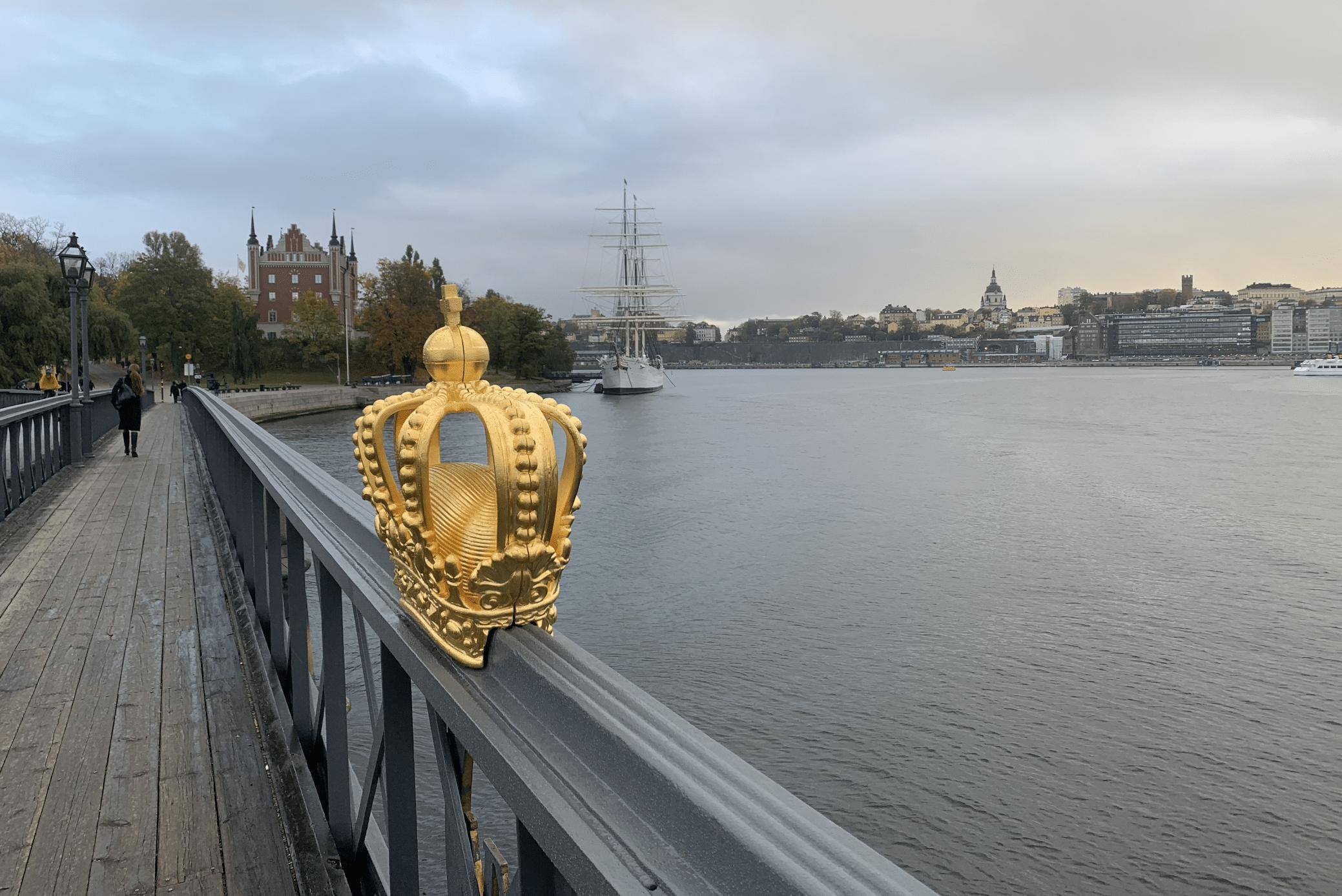 la passerelle skeppsholmsbron