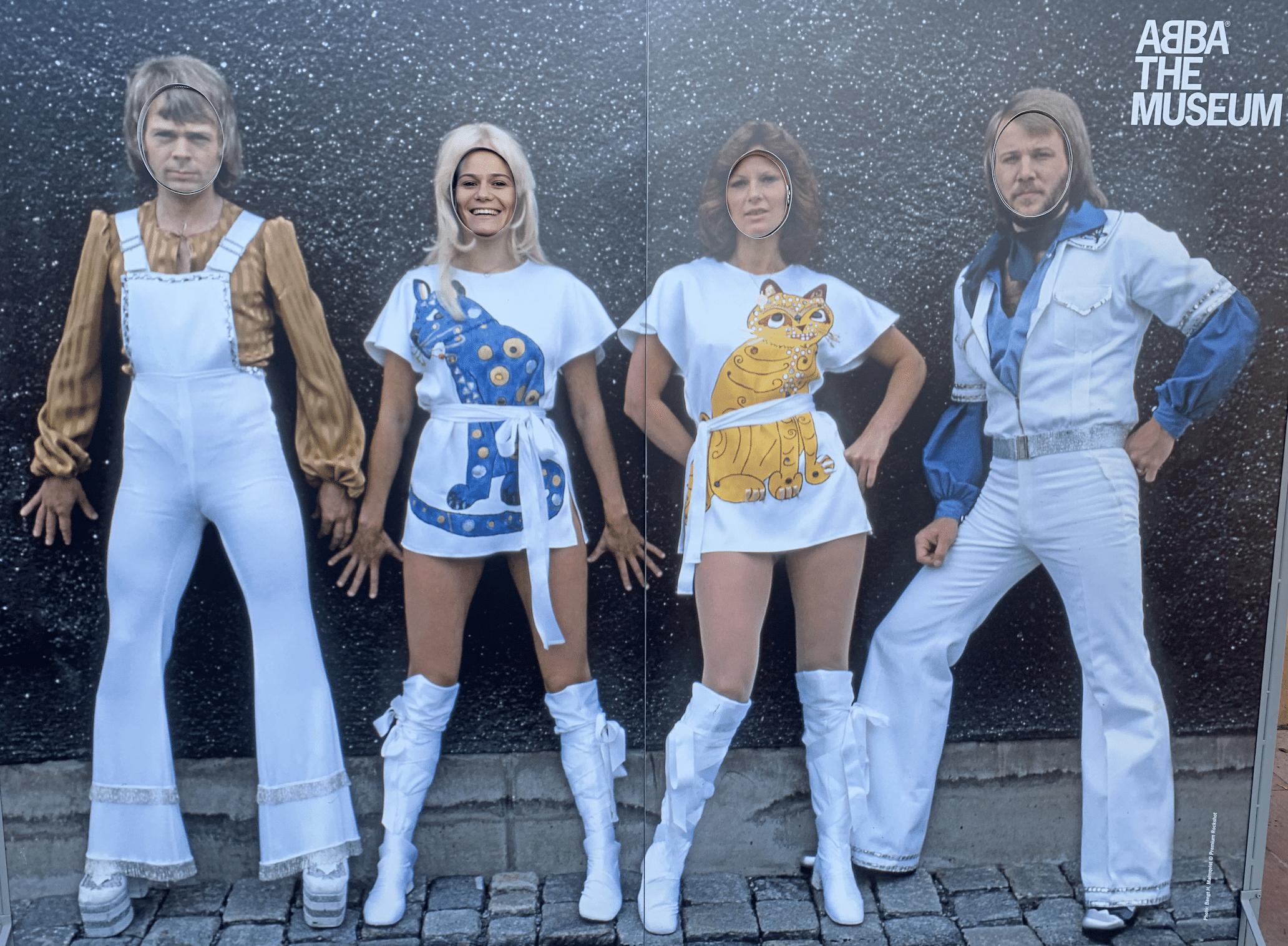que faire a stockholm : la visite du musee d'abba