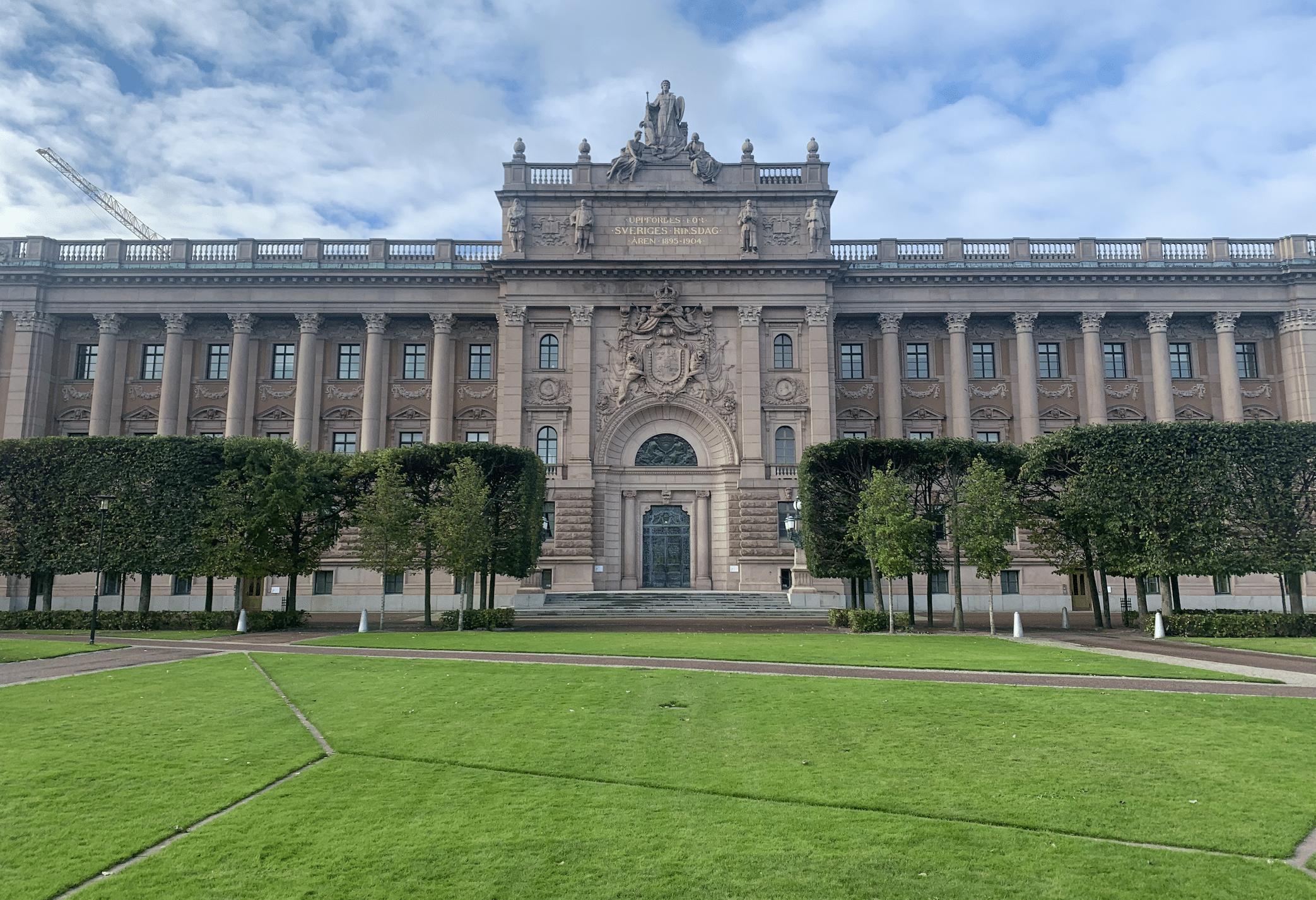 le parlement suedois
