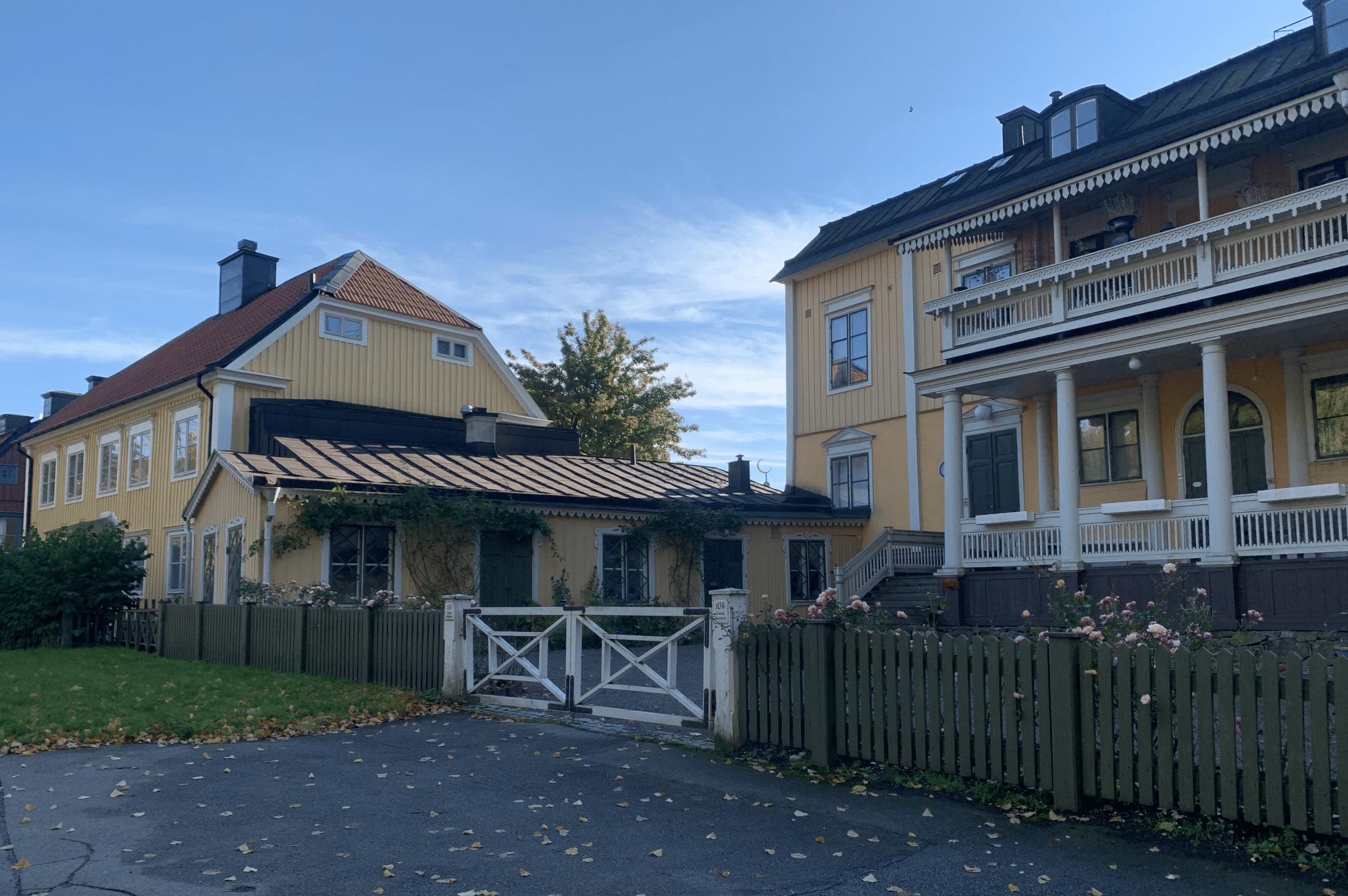 des maisons de campagne a djurgarden a stockholm