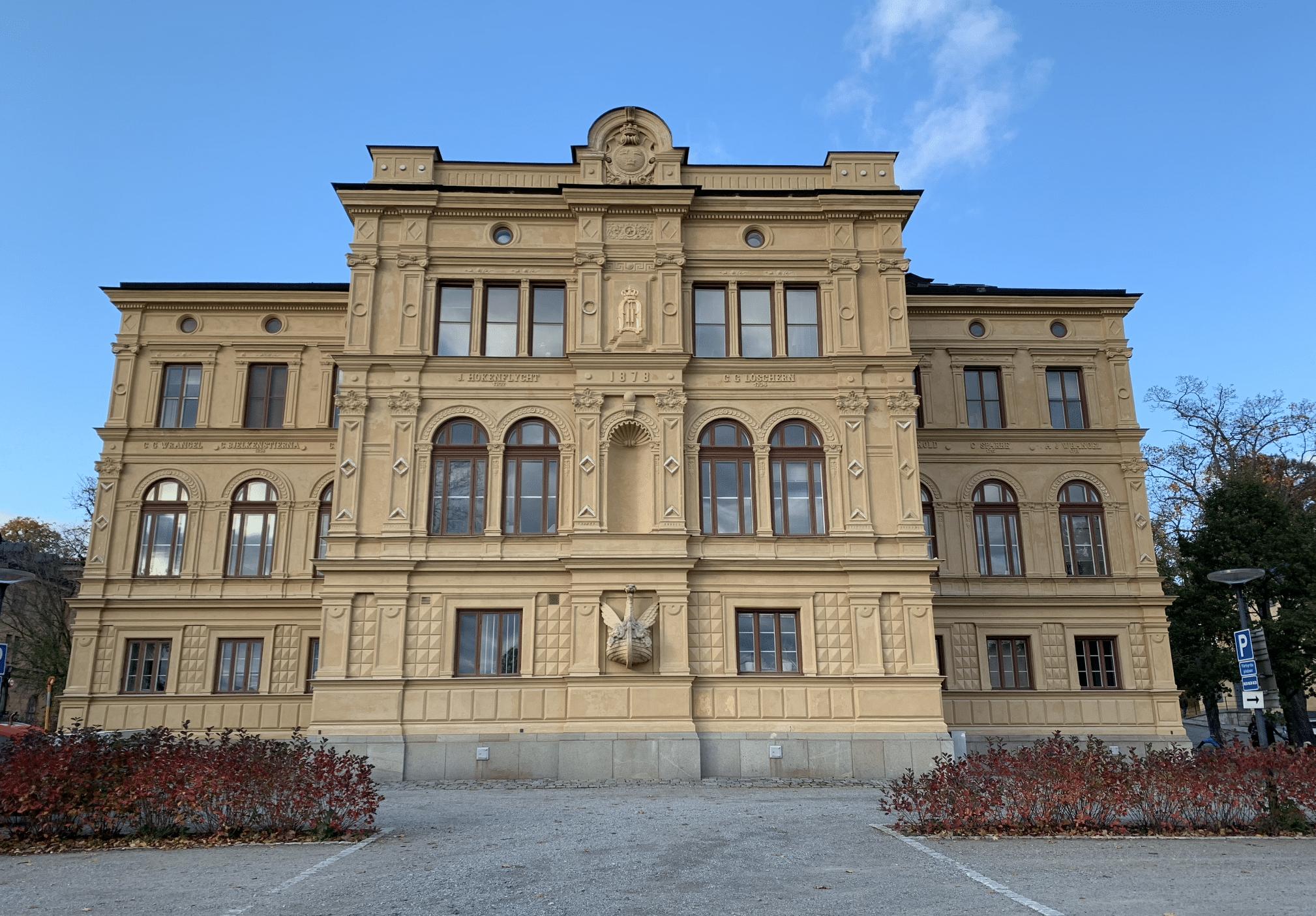 l'institut de recherche nordregio a skeppsholmen