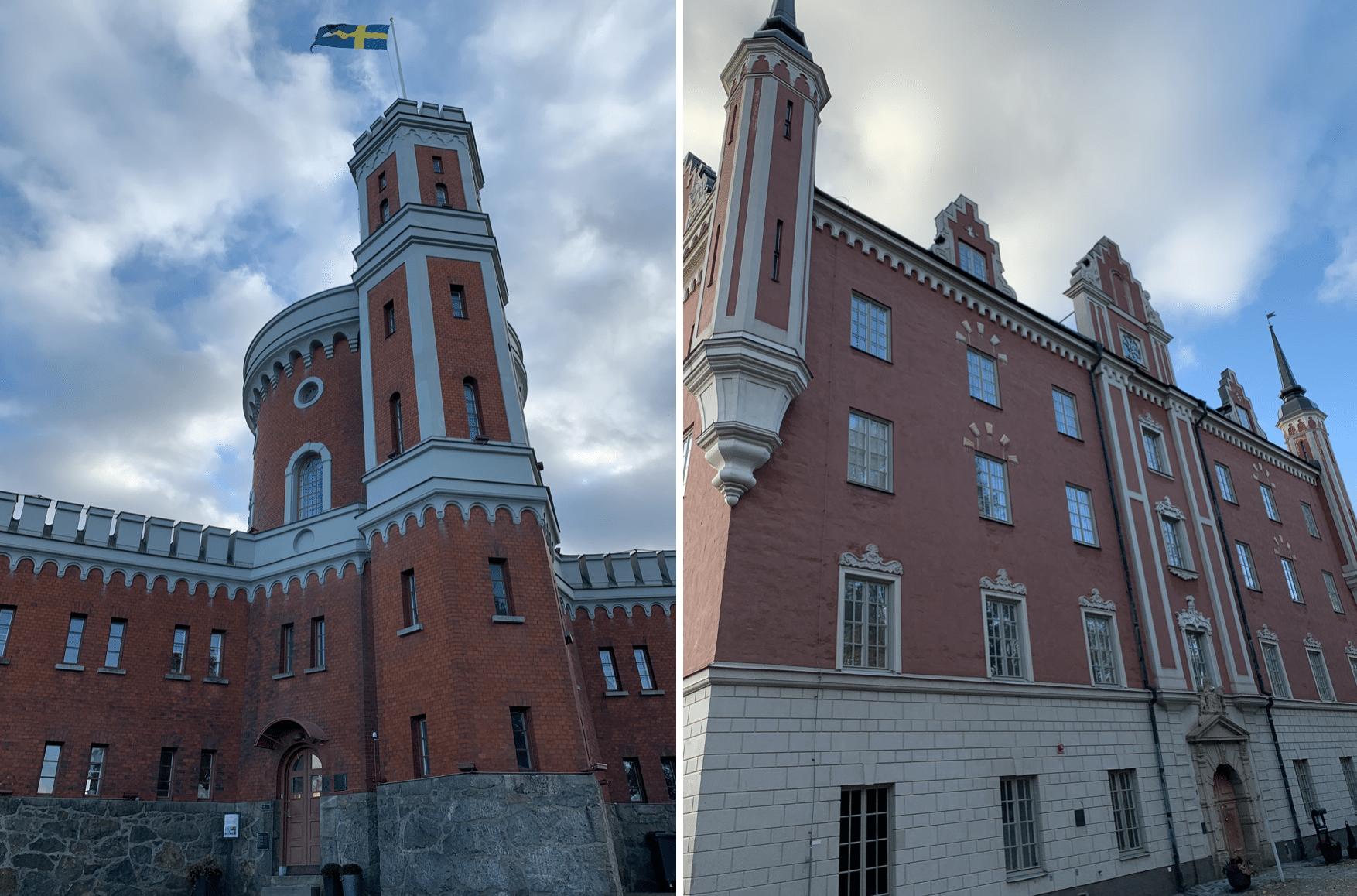 monuments historiques sur l'ile de skeppsholmen